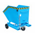 Containerwagen met inrijkokers