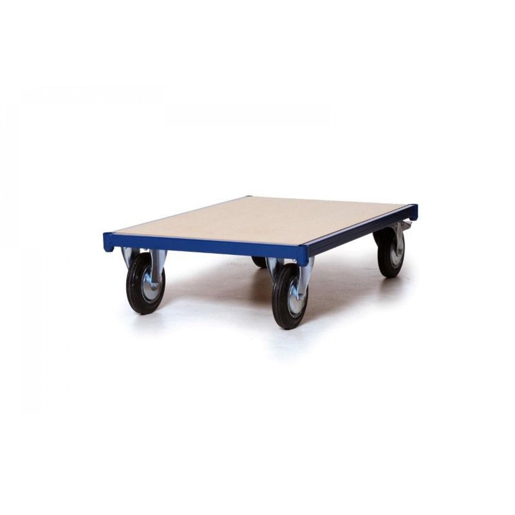Platformwagen met MDF laadvloer