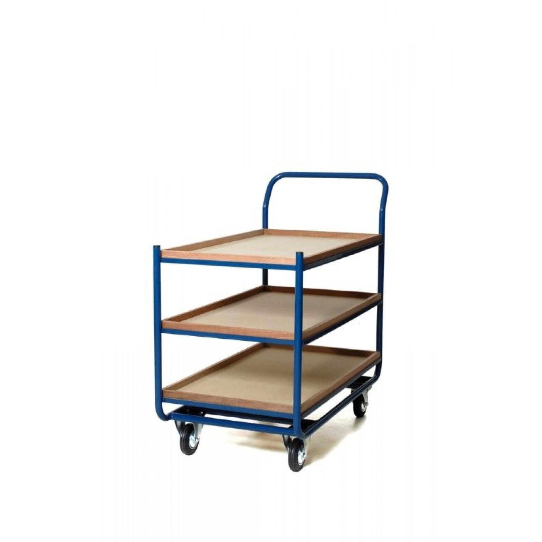 Tafelwagen 1000x600 mm met 3 niveaus, 202.011