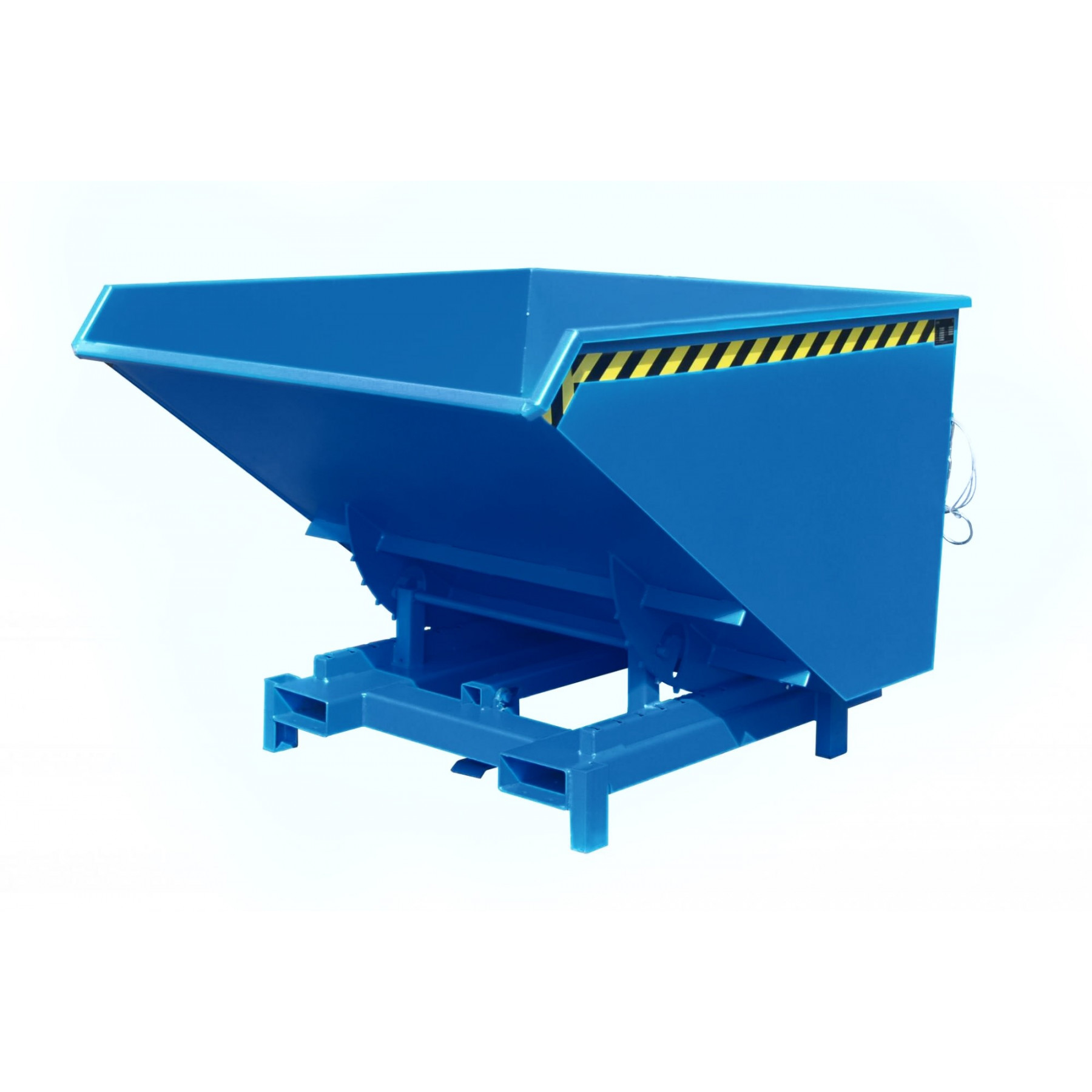 Heavy duty kiepcontainer, gelakt of verzinkt 1700 liter