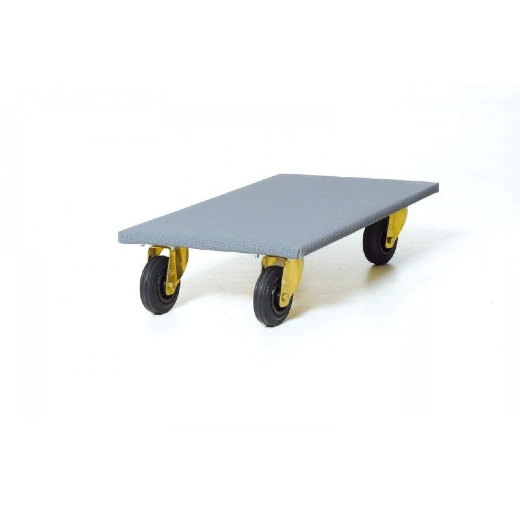 Meubelroller 600x500 mm met rubber wielen, 212.777
