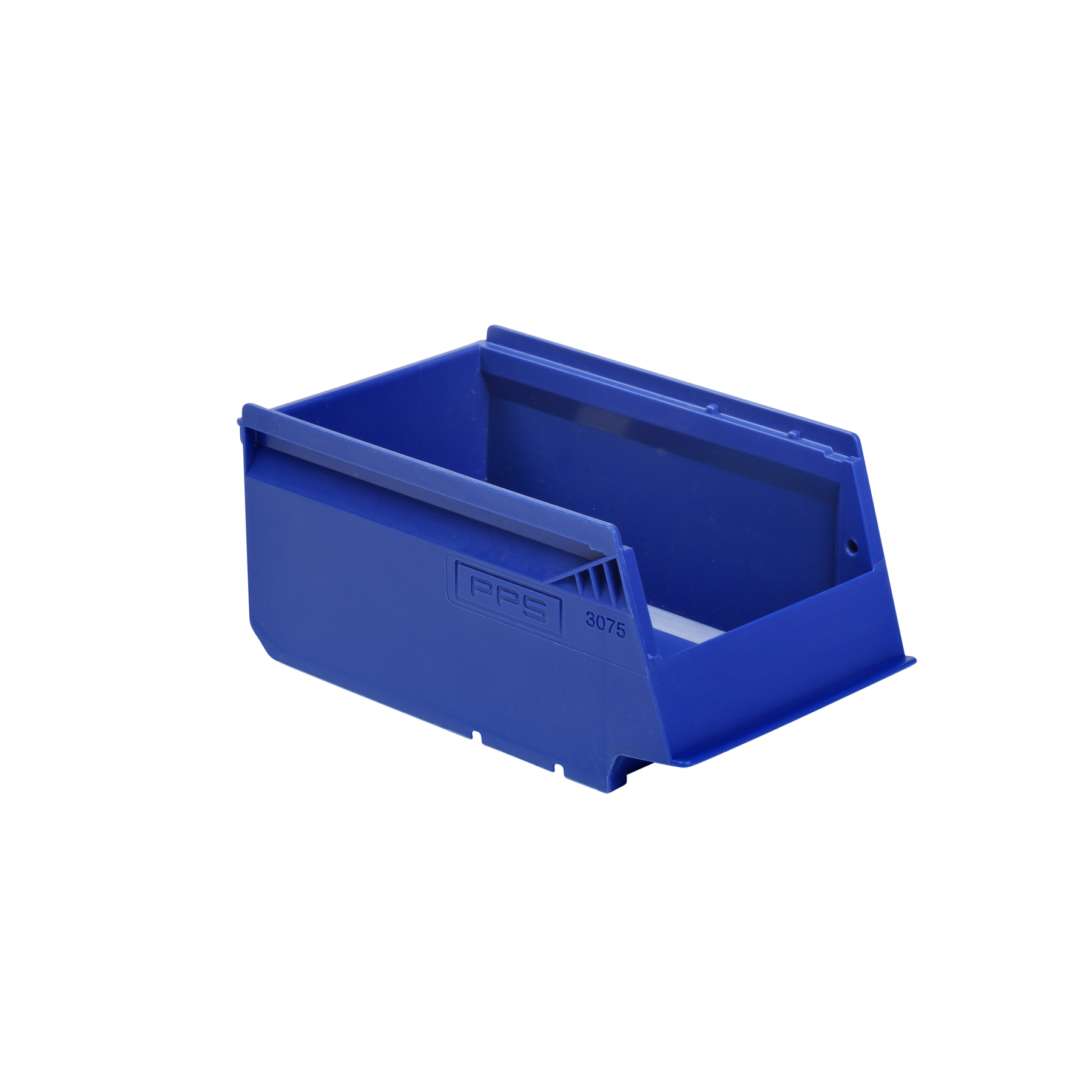 Stapelbare magazijnbak 170x105x75mm, kleur blauw