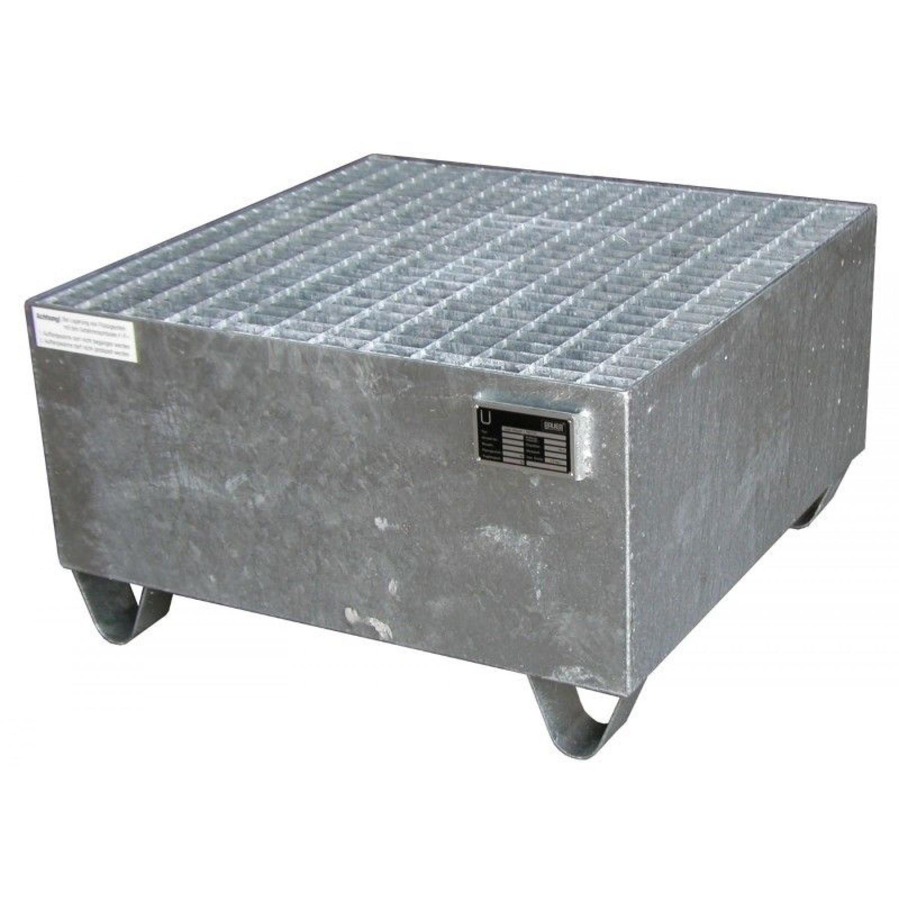 Vloeistofopvangbak voor 1 x 200 liter vat, 70049-2003