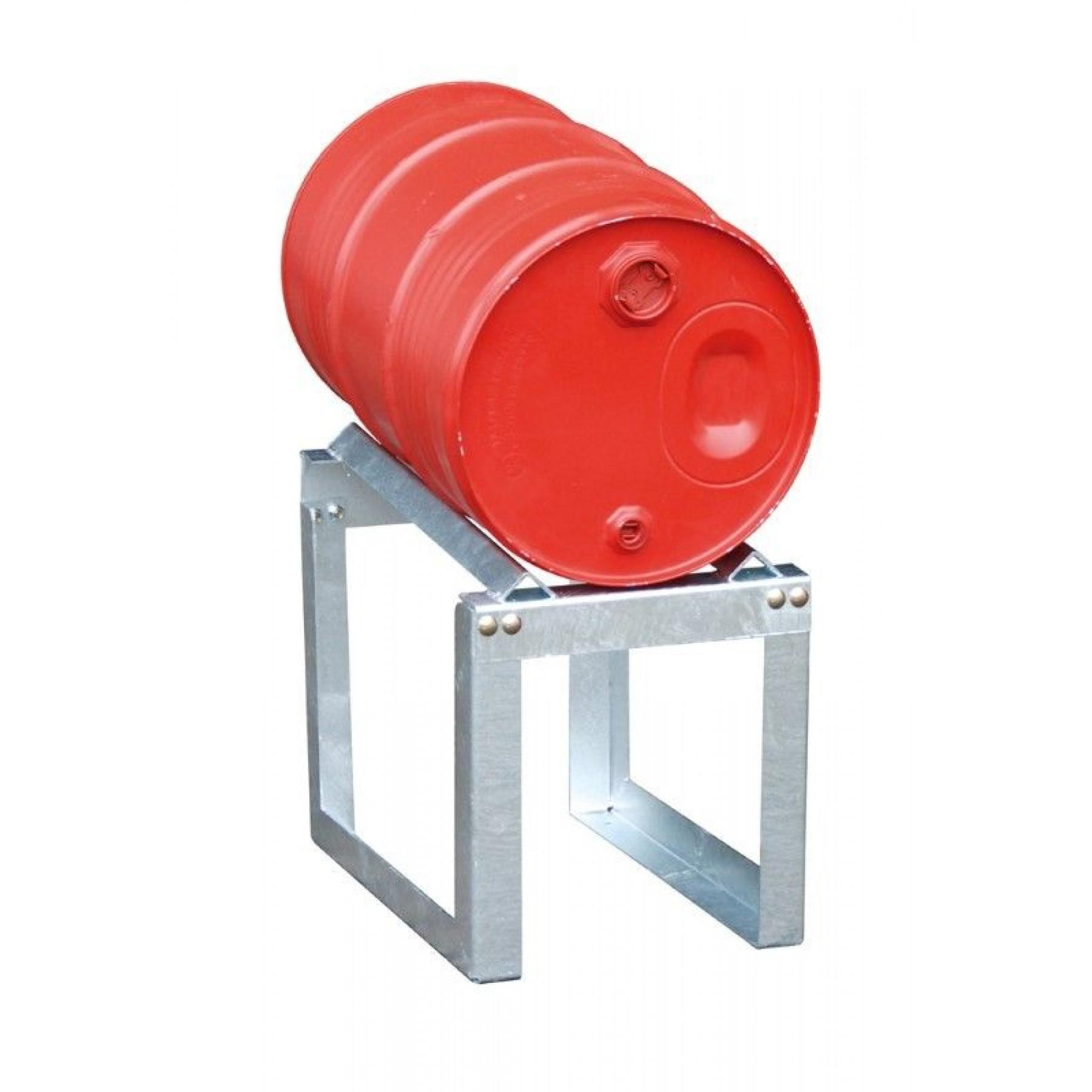 Vatenrek t.b.v. 1 x 60 liter vat, verzinkt, 70049-FA60-1