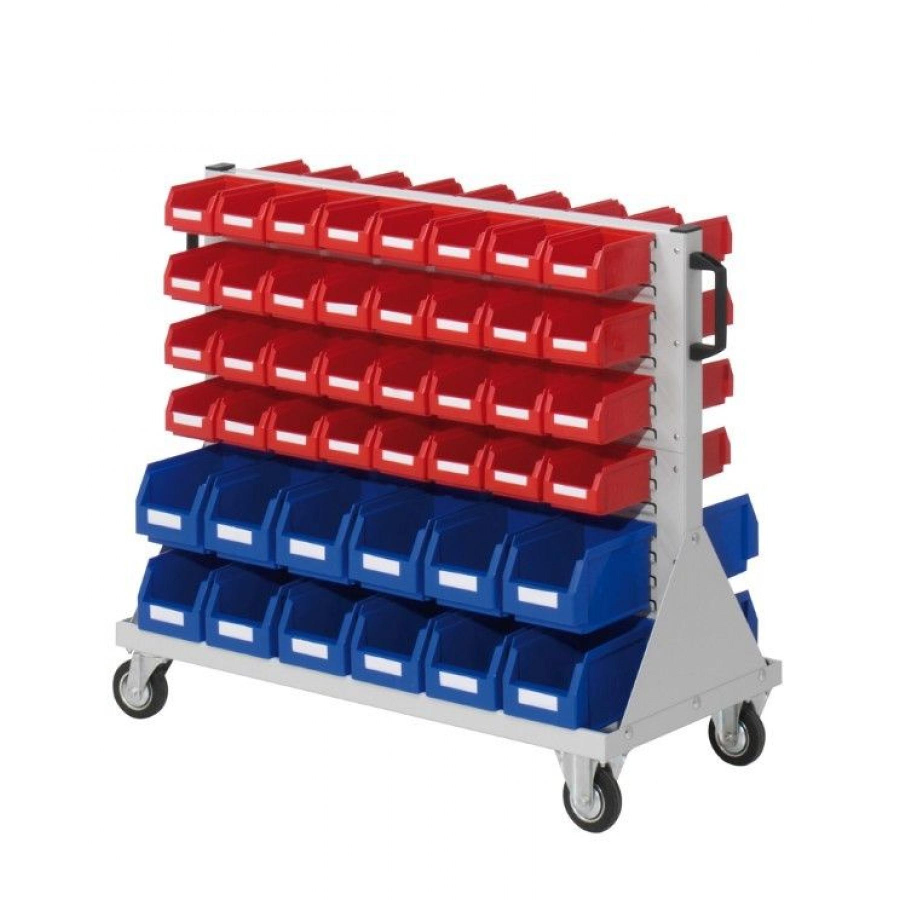 RasterMobil® rijdende bakkenstelling 1000x500x890 mm (LxBxH), 7020.01.0913