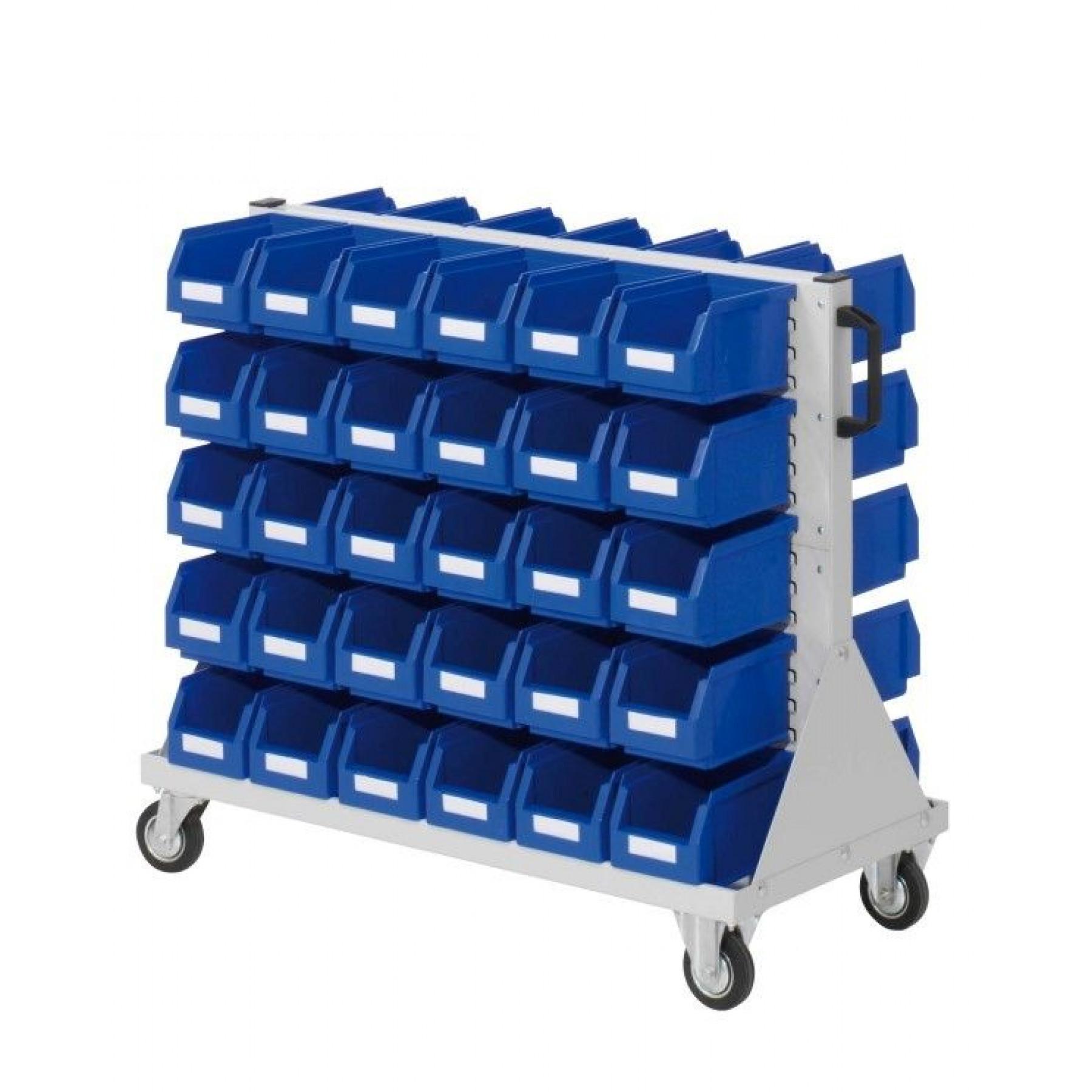 RasterMobil® rijdende bakkenstelling 1000x500x890 mm (LxBxH), 7020.03.0913