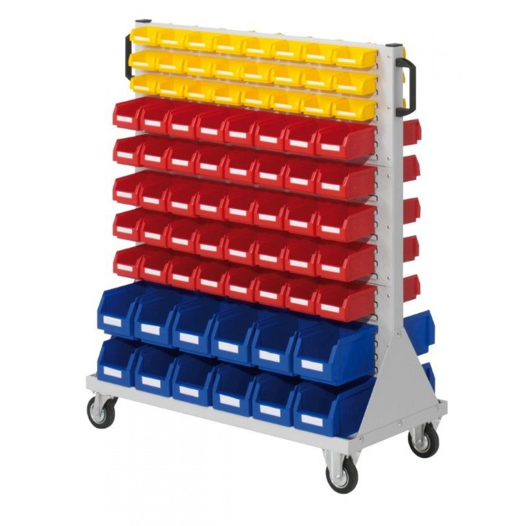RasterMobil® rijdende bakkenstelling 1000x500x1230 mm, 7021.01.2013
