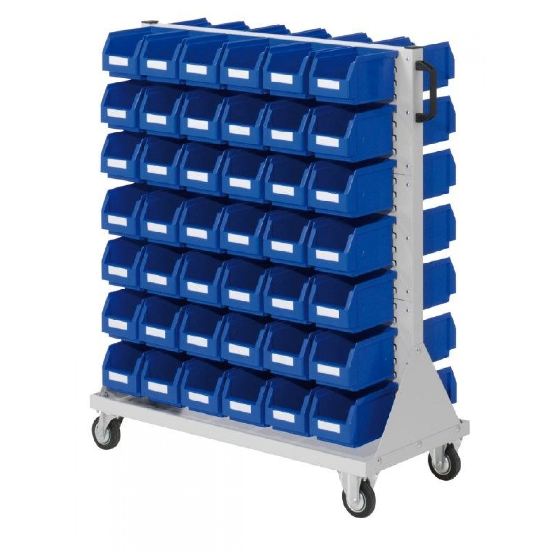 RasterMobil® rijdende bakkenstelling 1000x500x1230 mm, 7021.03.2013
