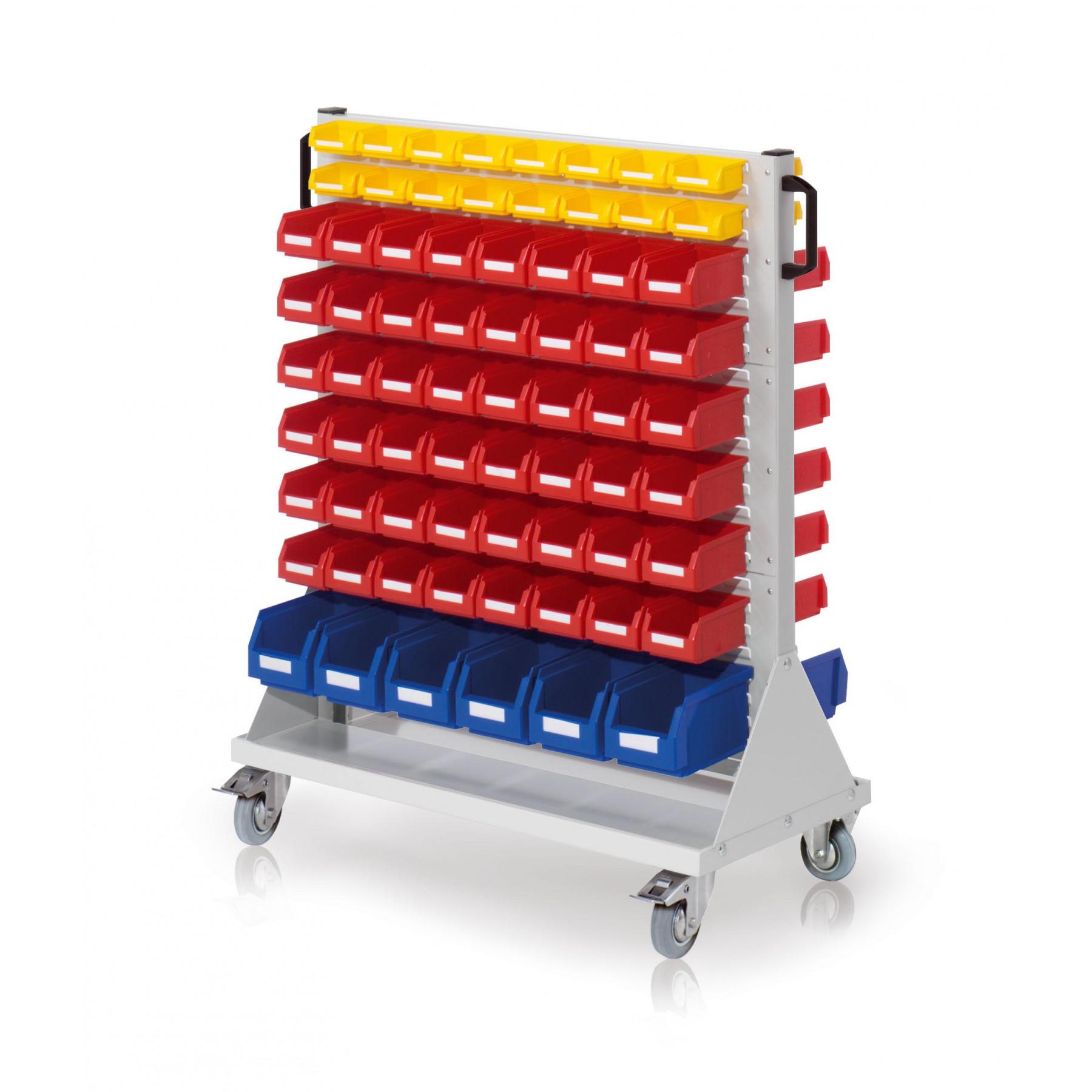 RasterMobil® rijdende bakkenstelling 1000x500x1230 mm, 7021.04.2013