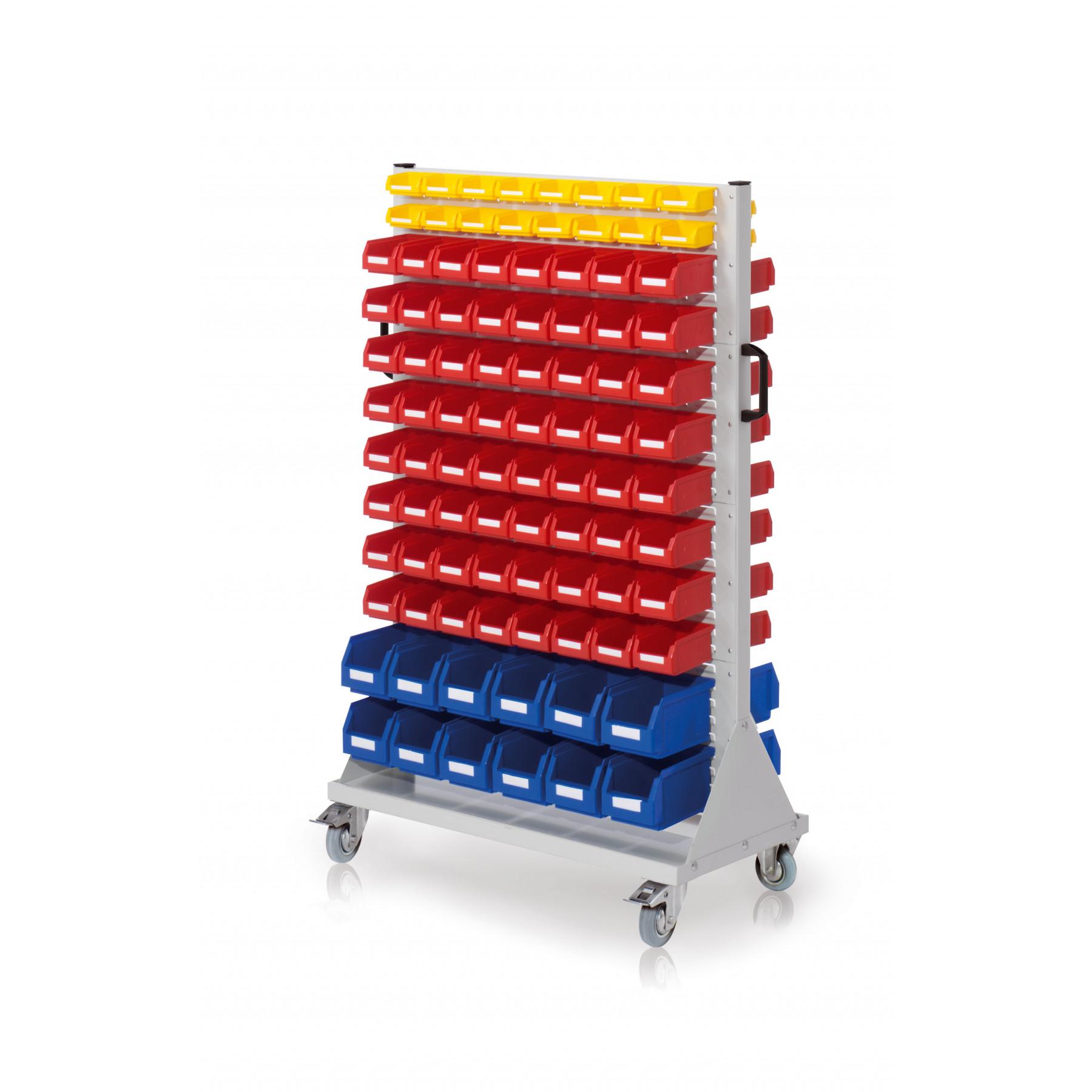 RasterMobil® rijdende bakkenstelling 1000x500x1580 mm, 7022.04.3513