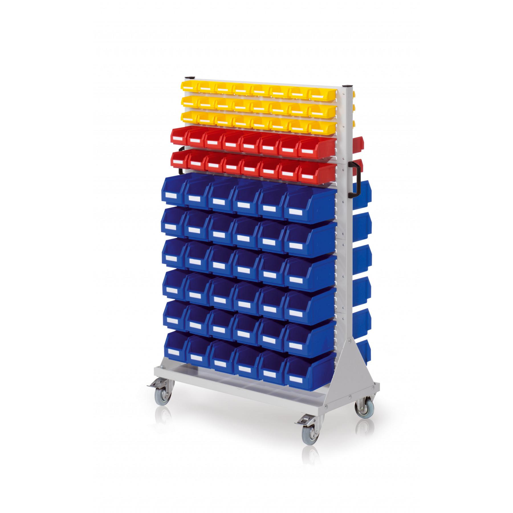 RasterMobil® rijdende bakkenstelling 1000x500x1580 mm, 7022.05.3513