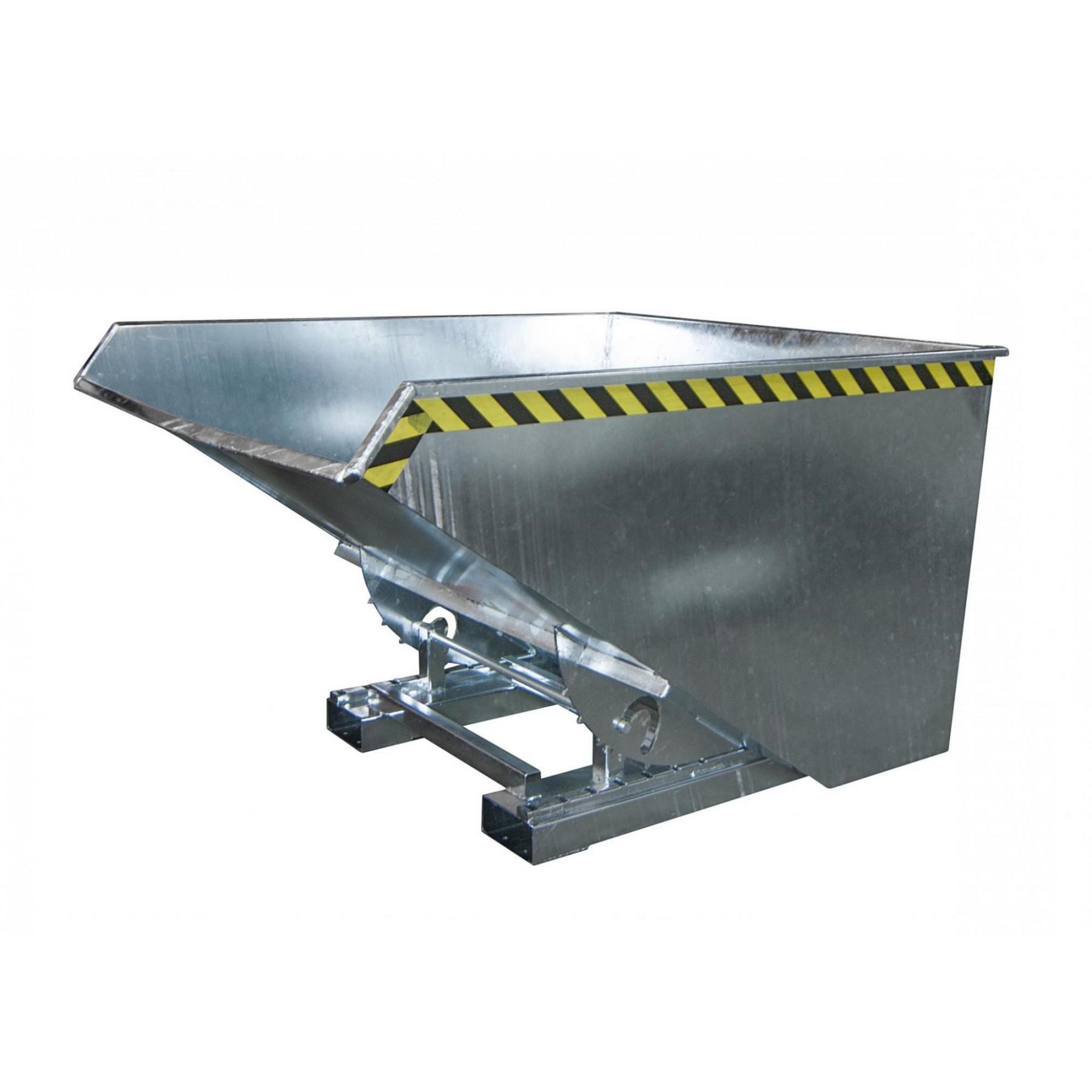 Kiepcontainer 1700 liter, hoog model, MTF-1700-V