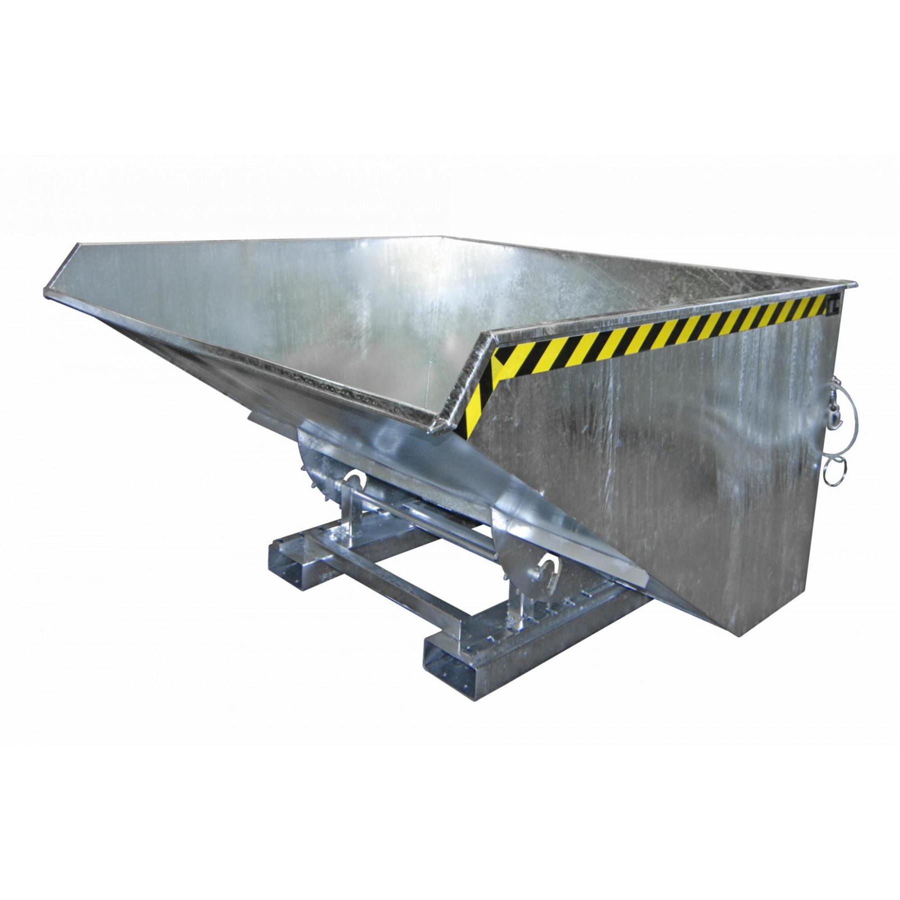 Kiepcontainer 2100 liter, hoog model, MTF-2100-V