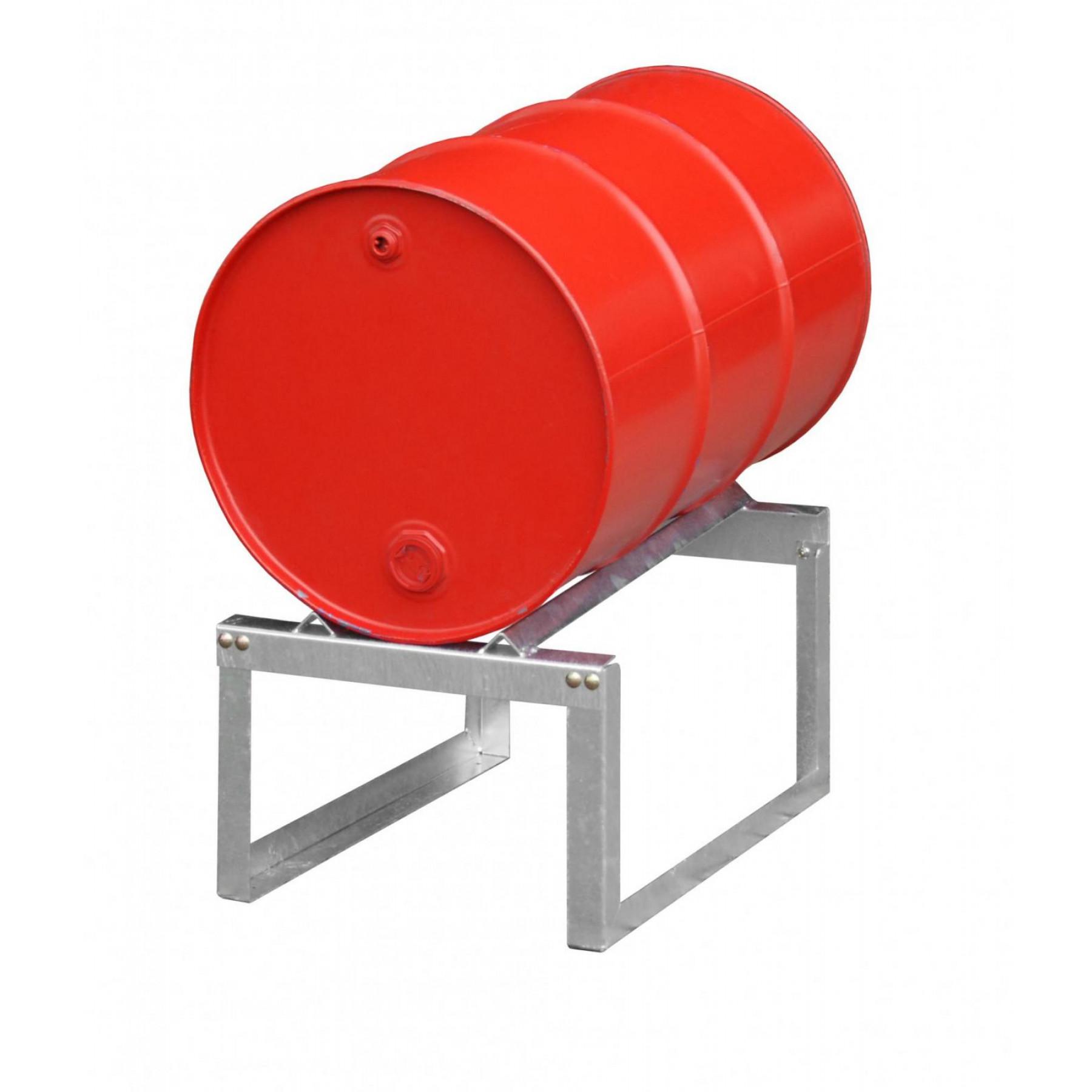Vatenrek t.b.v. 1 x 200 liter vat, verzinkt, 70049-FA200-1