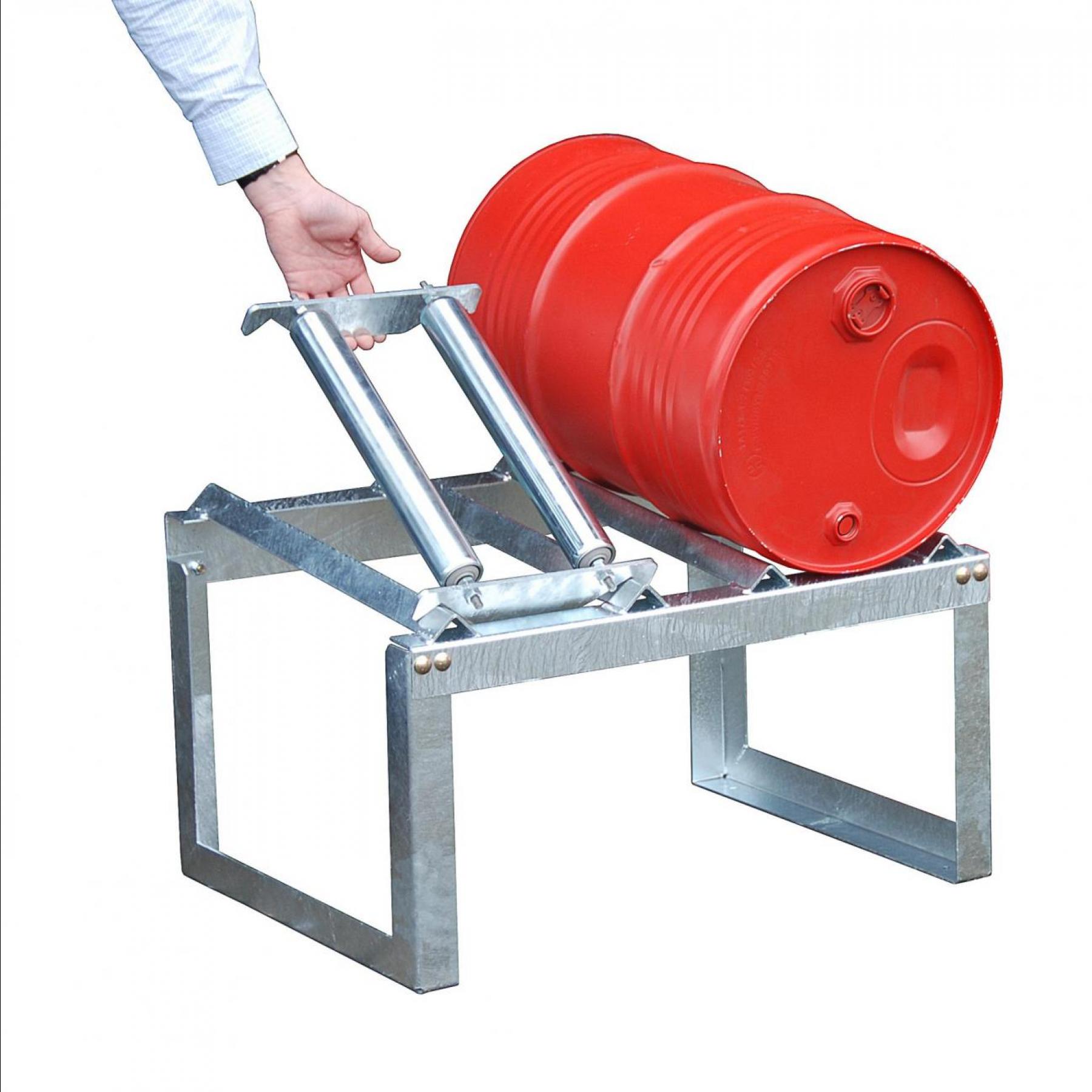 Draaisteun voor vatenrek t.b.v. 1 x 60 liter vat, 70049-RA60