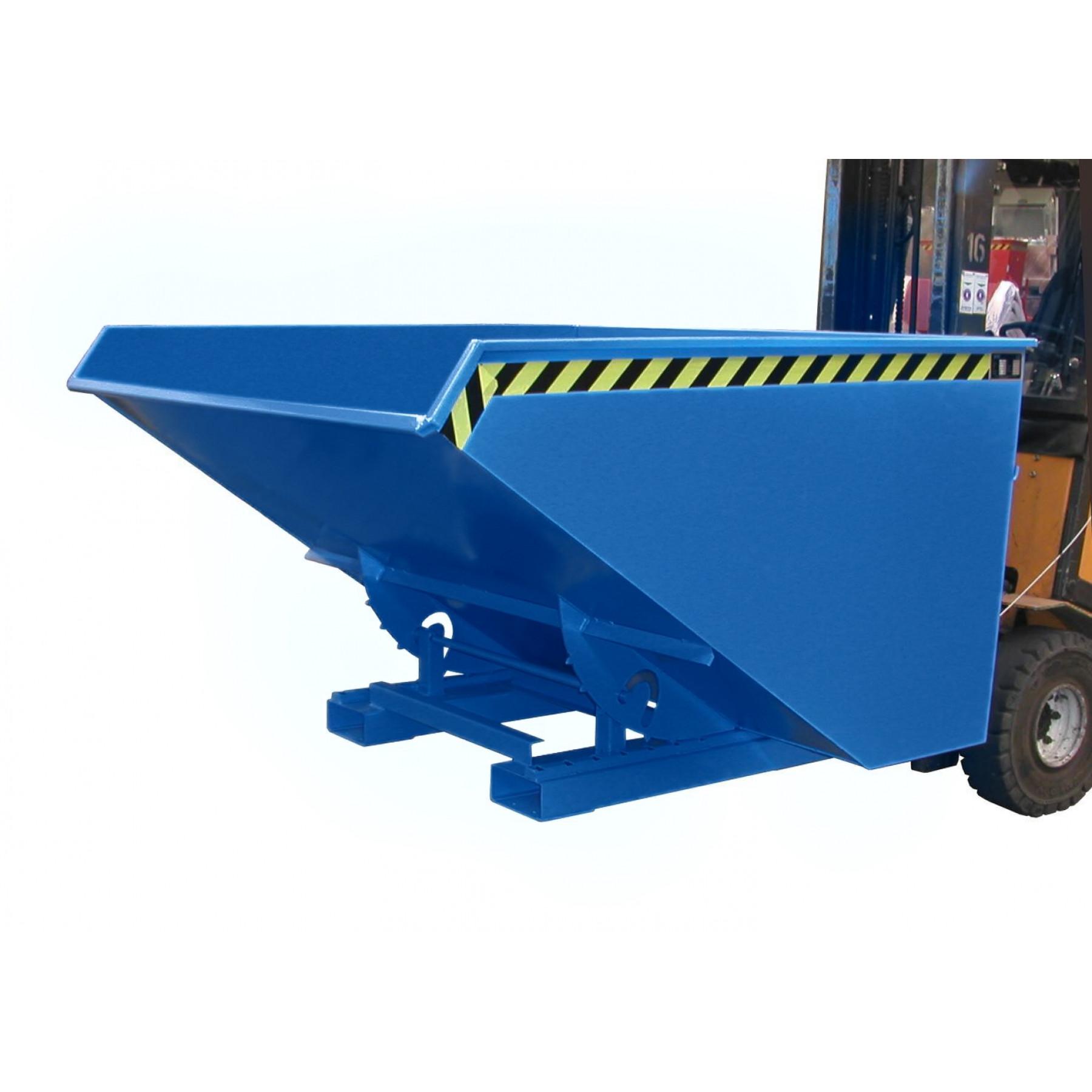 Kiepcontainer 1200 liter, hoog model, MTF-1200-5001