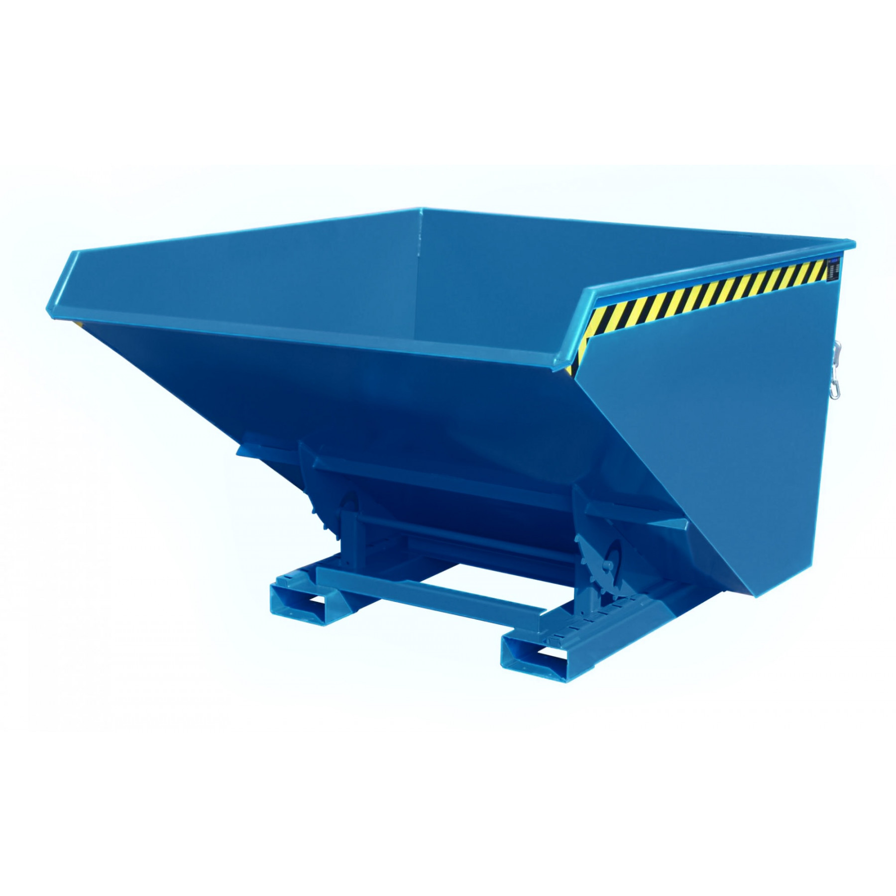 Kiepcontainer hoog model, gelakt of verzinkt, type MTF 1700 liter