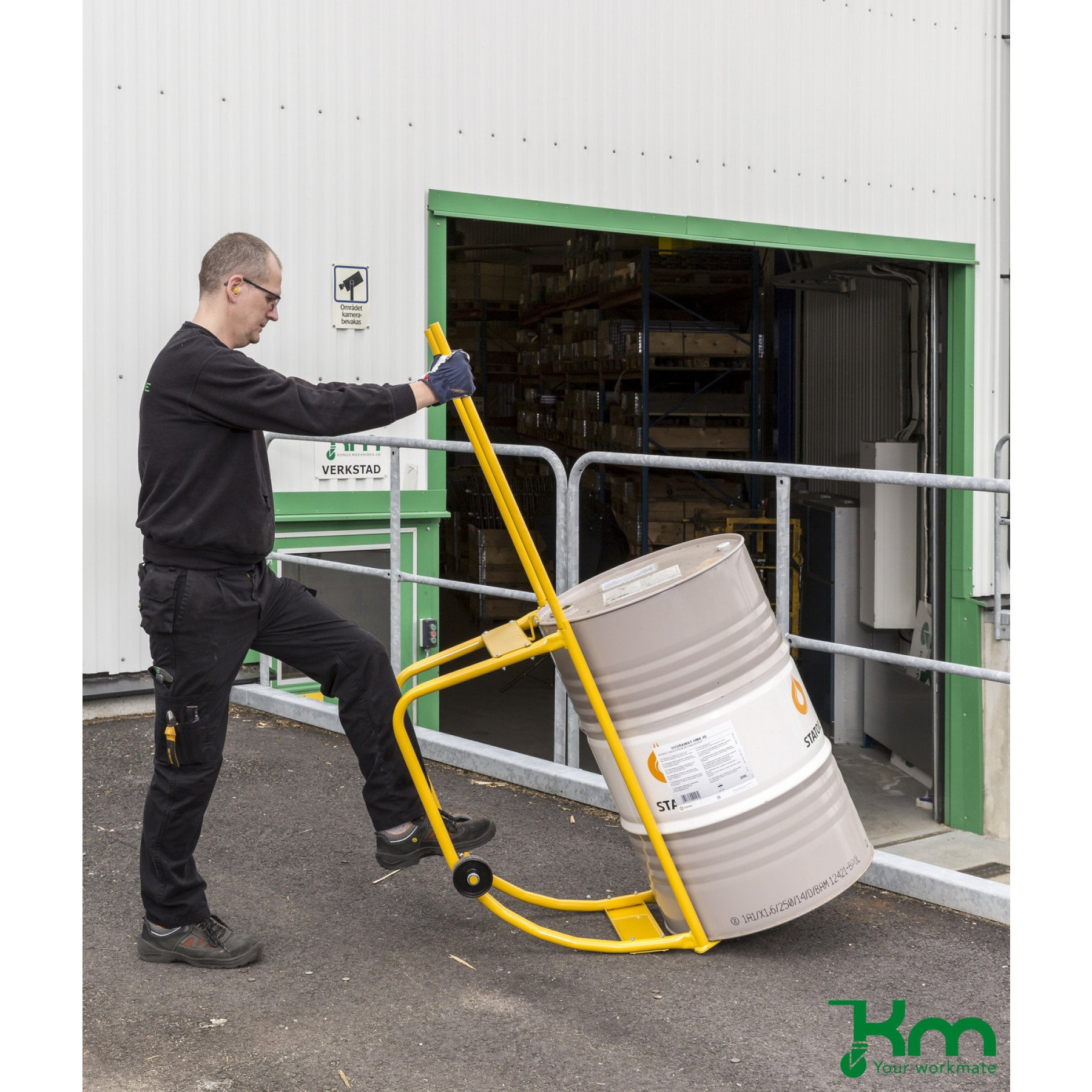 Vatenkiepbok voor 1 x 200 liter vat, KM 145961