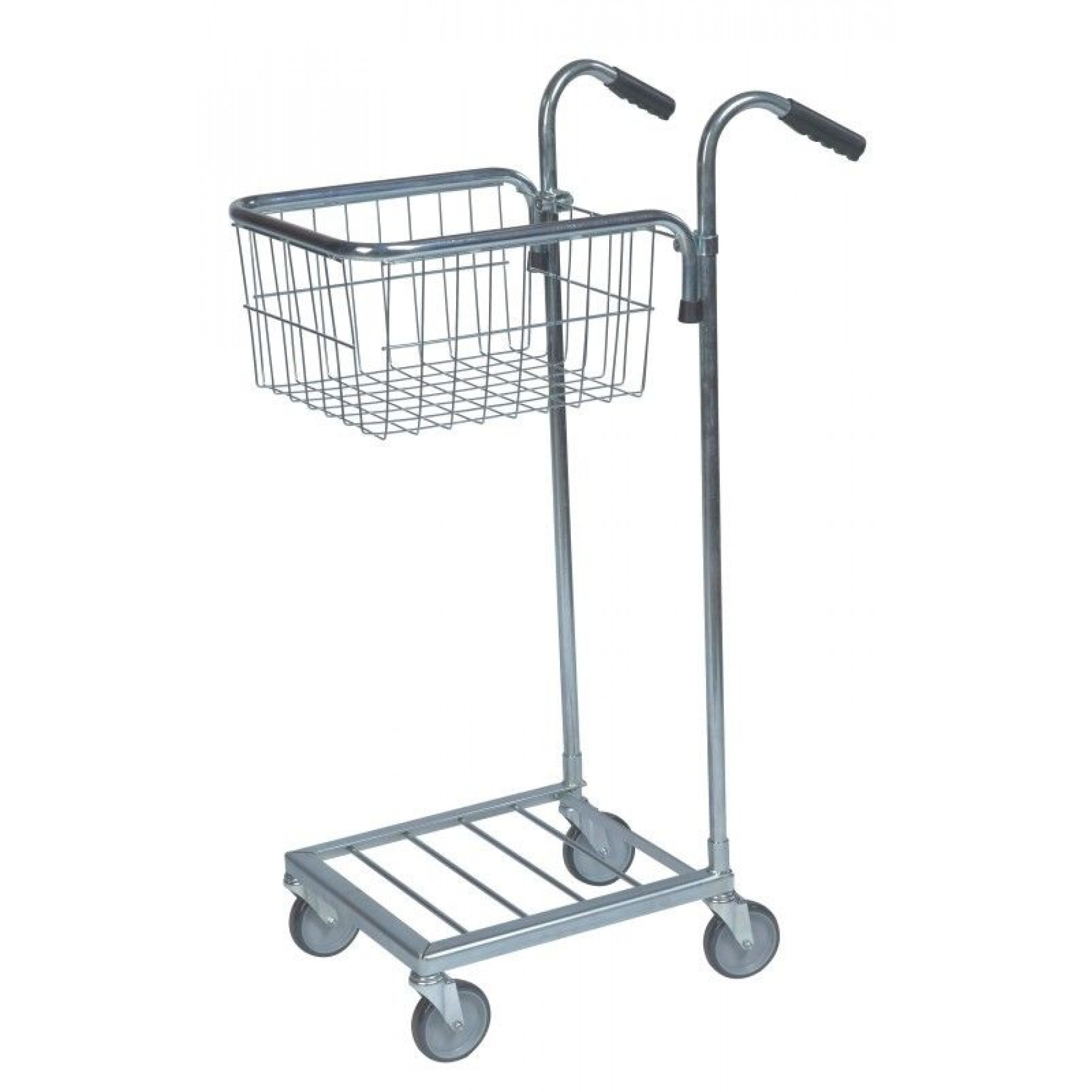 Mini trolley met 1 draadmand, KM 153-T