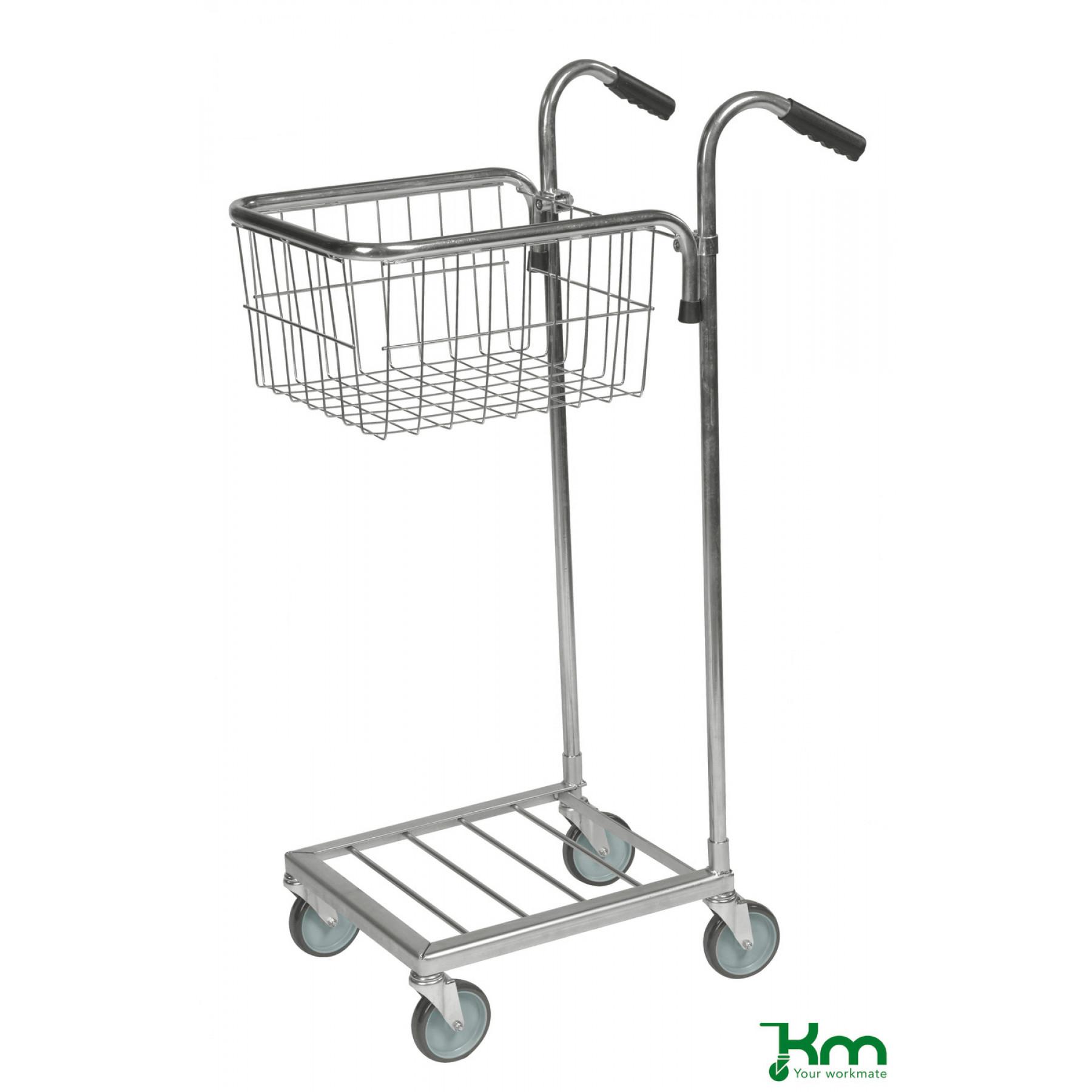 Mini trolley met 1 draadmand, KM 153-T