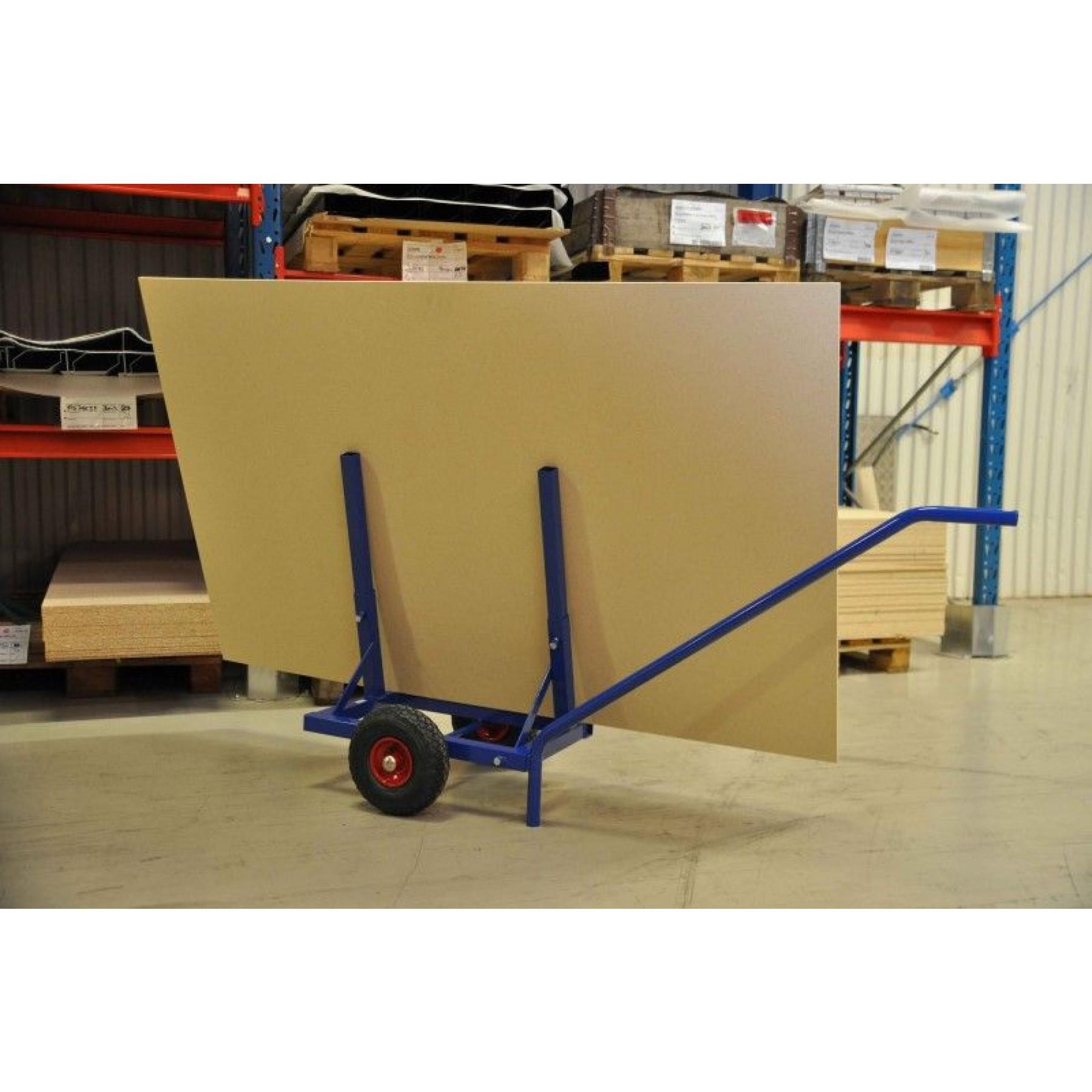 Platenwagen op luchtbandwielen, KM 213