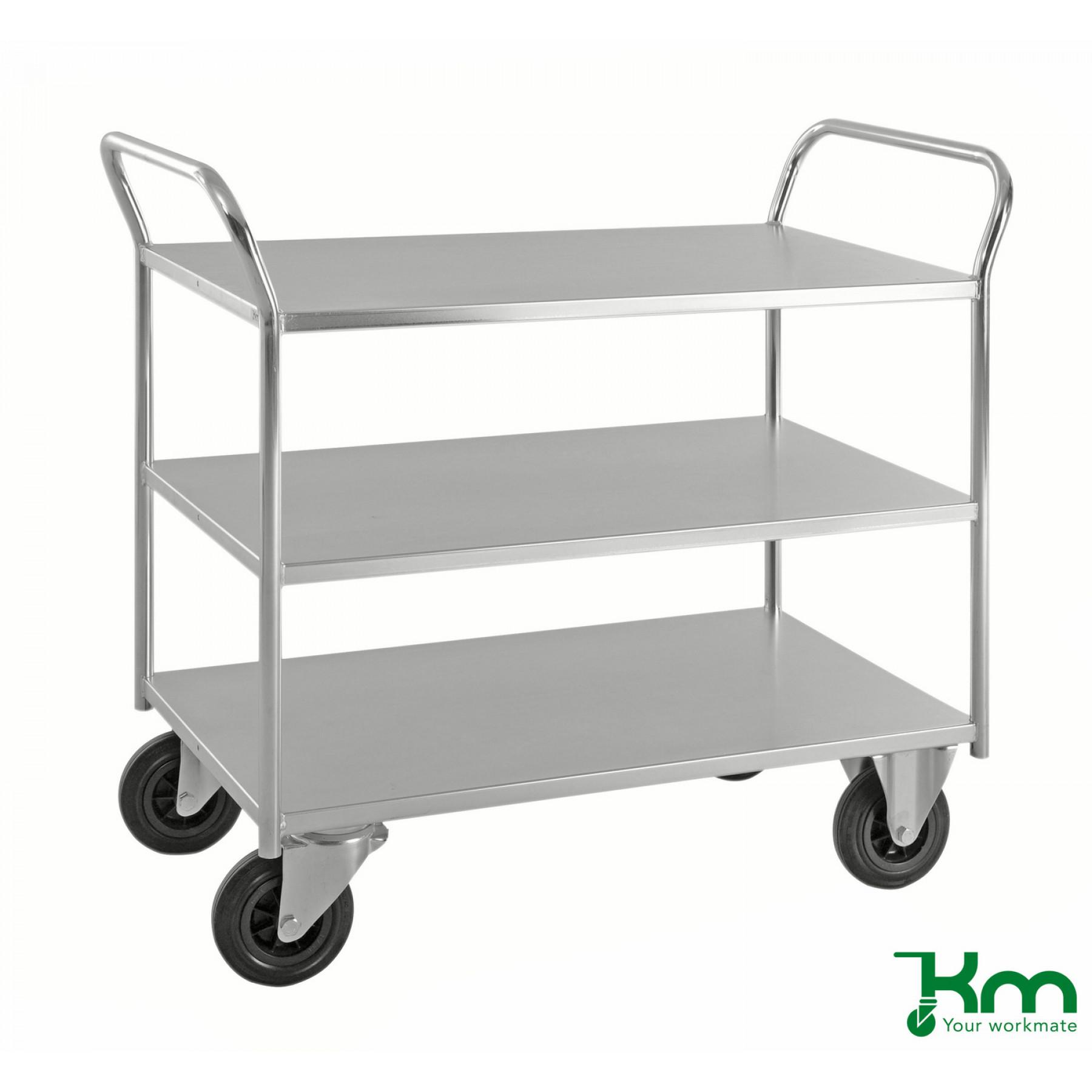 Heavy-duty tafelwagen 1070x550 mm, KM 4169-EB