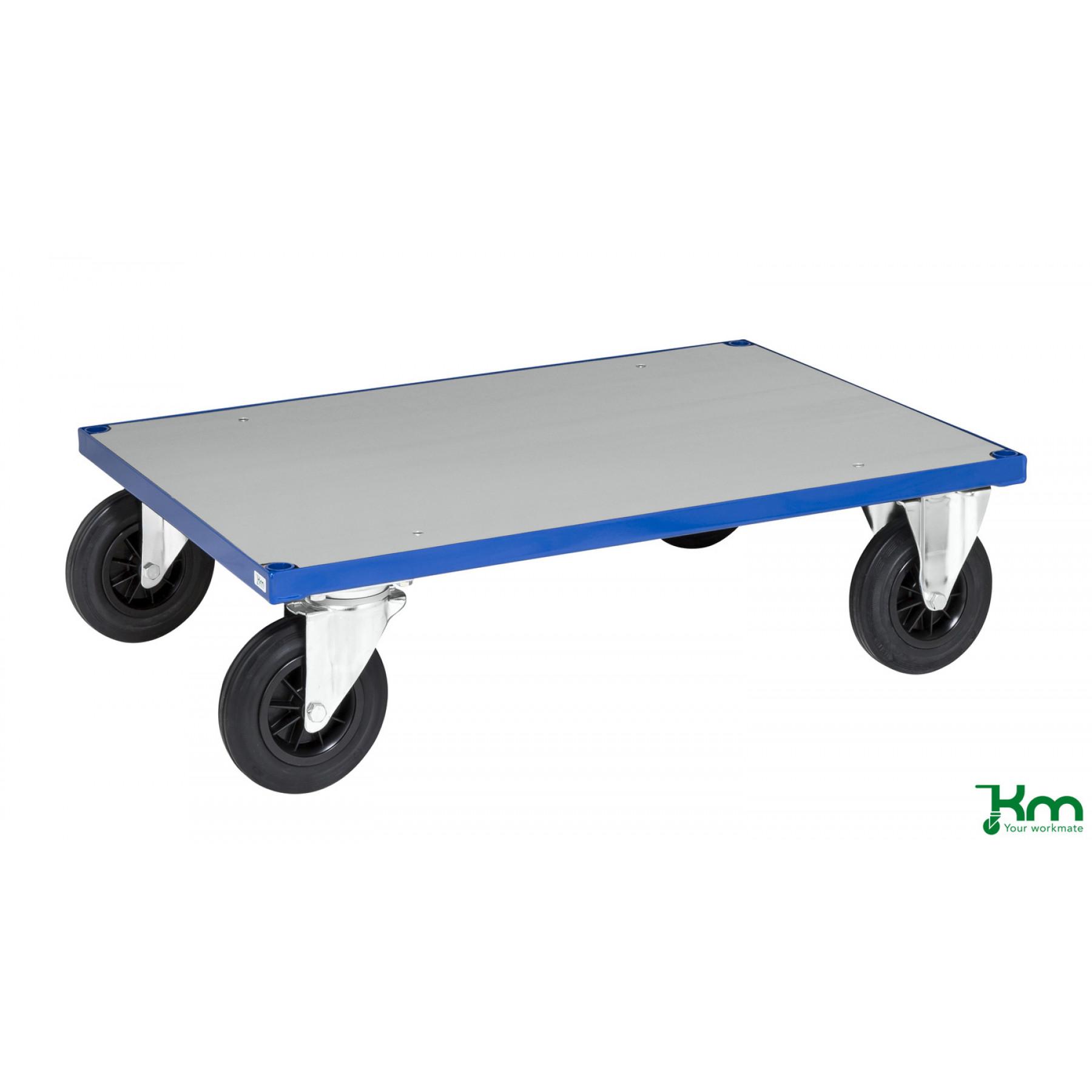 Platformwagen met staalverzinkte laadvloer