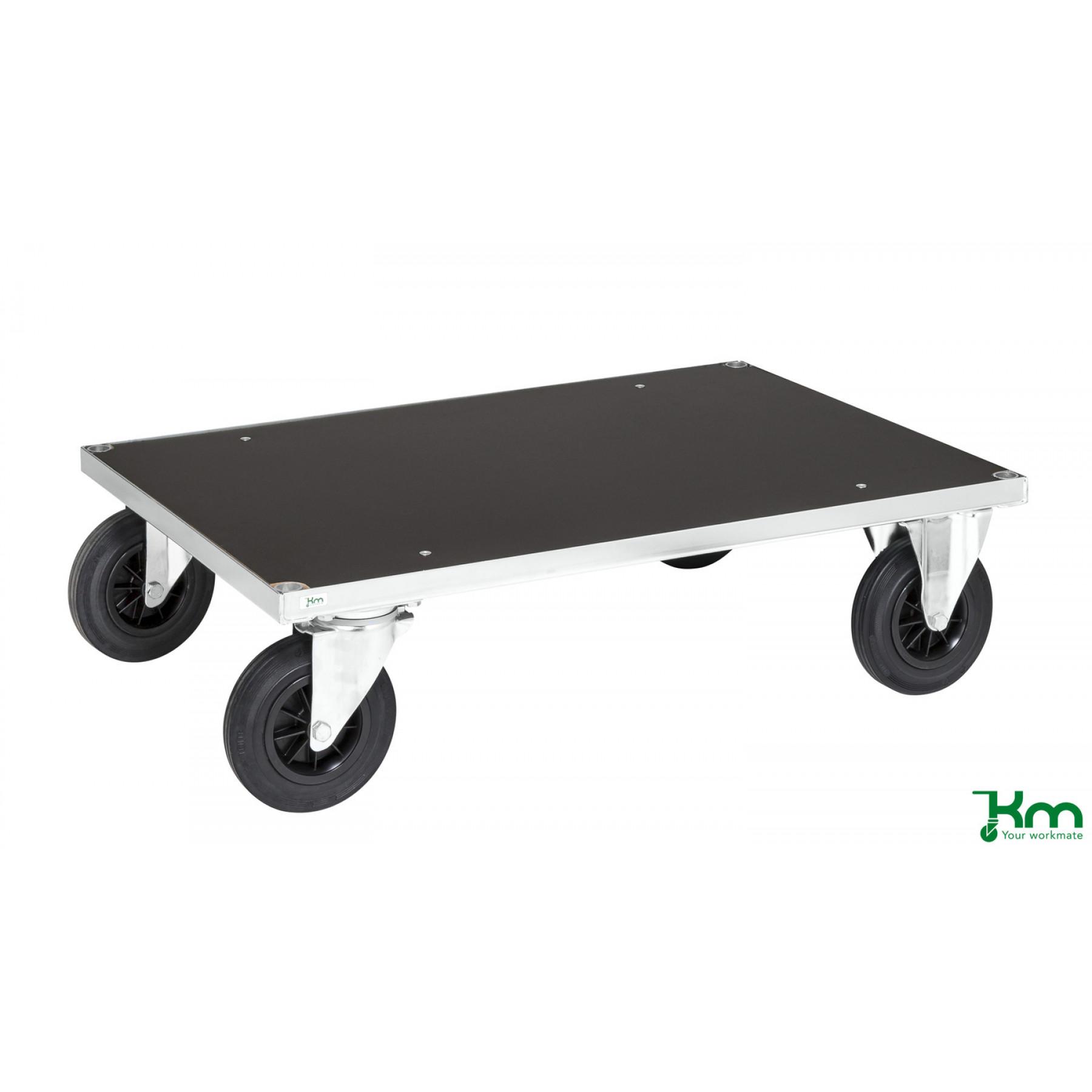 Platformwagen verzinkt met MDF laadvloer