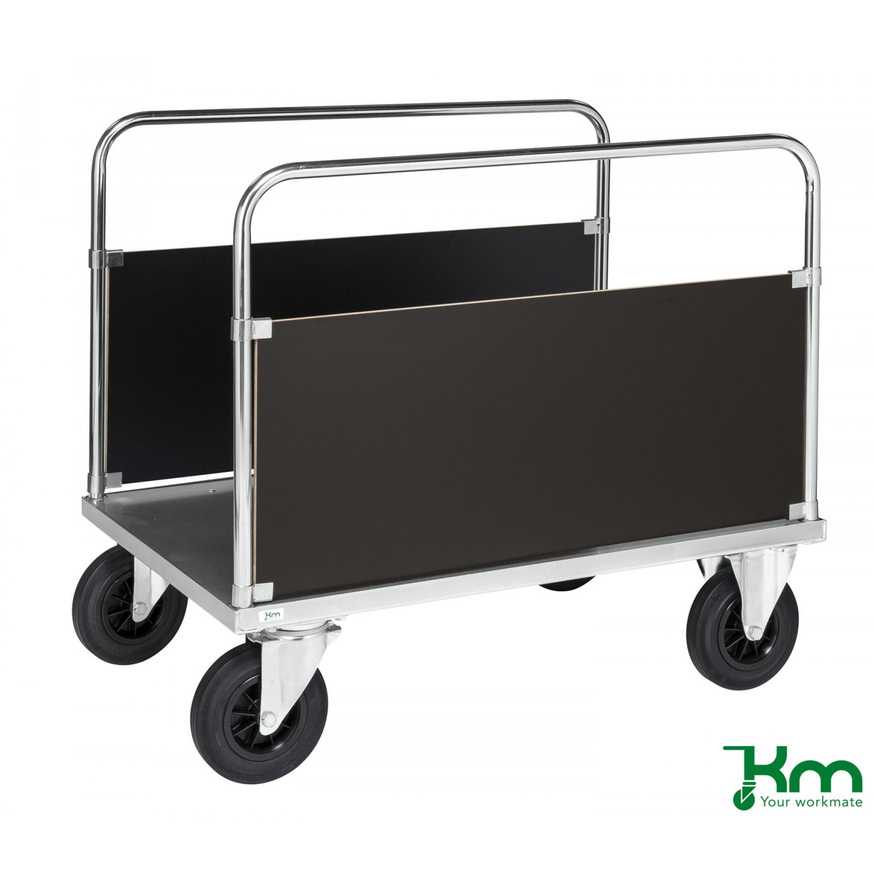 2-wandenwagen in staalverzinkte uitvoering