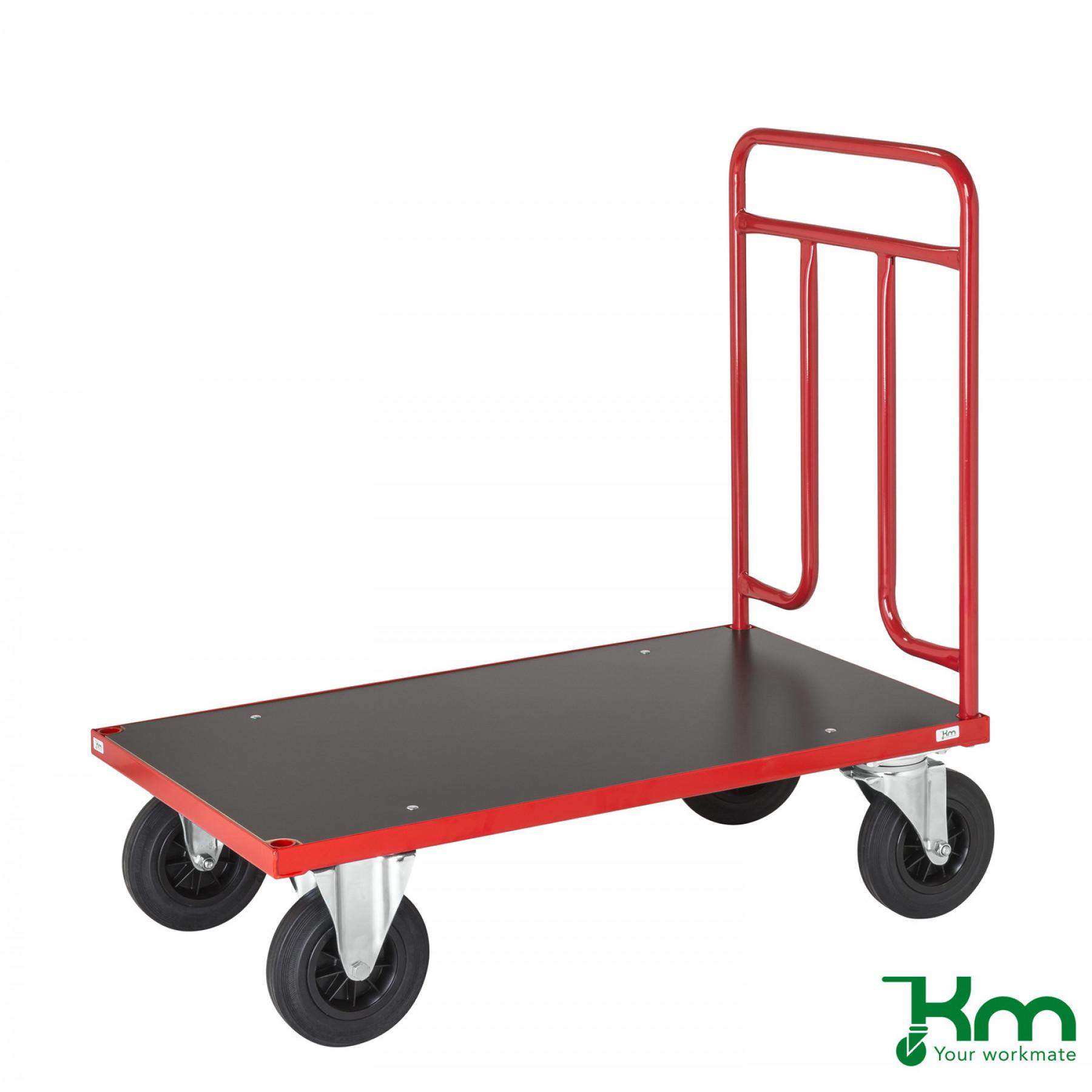 Duwwagen 1000x600 mm. Draagvermogen 500 kg, KM 731-4B