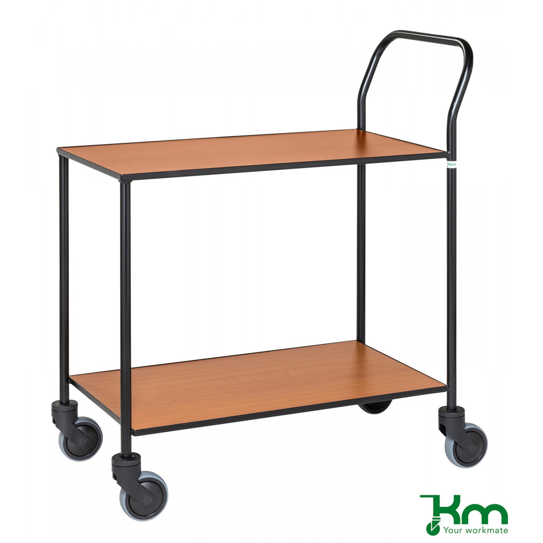 Design tafelwagen met kersenstructuur toplaag, KM 872-KO