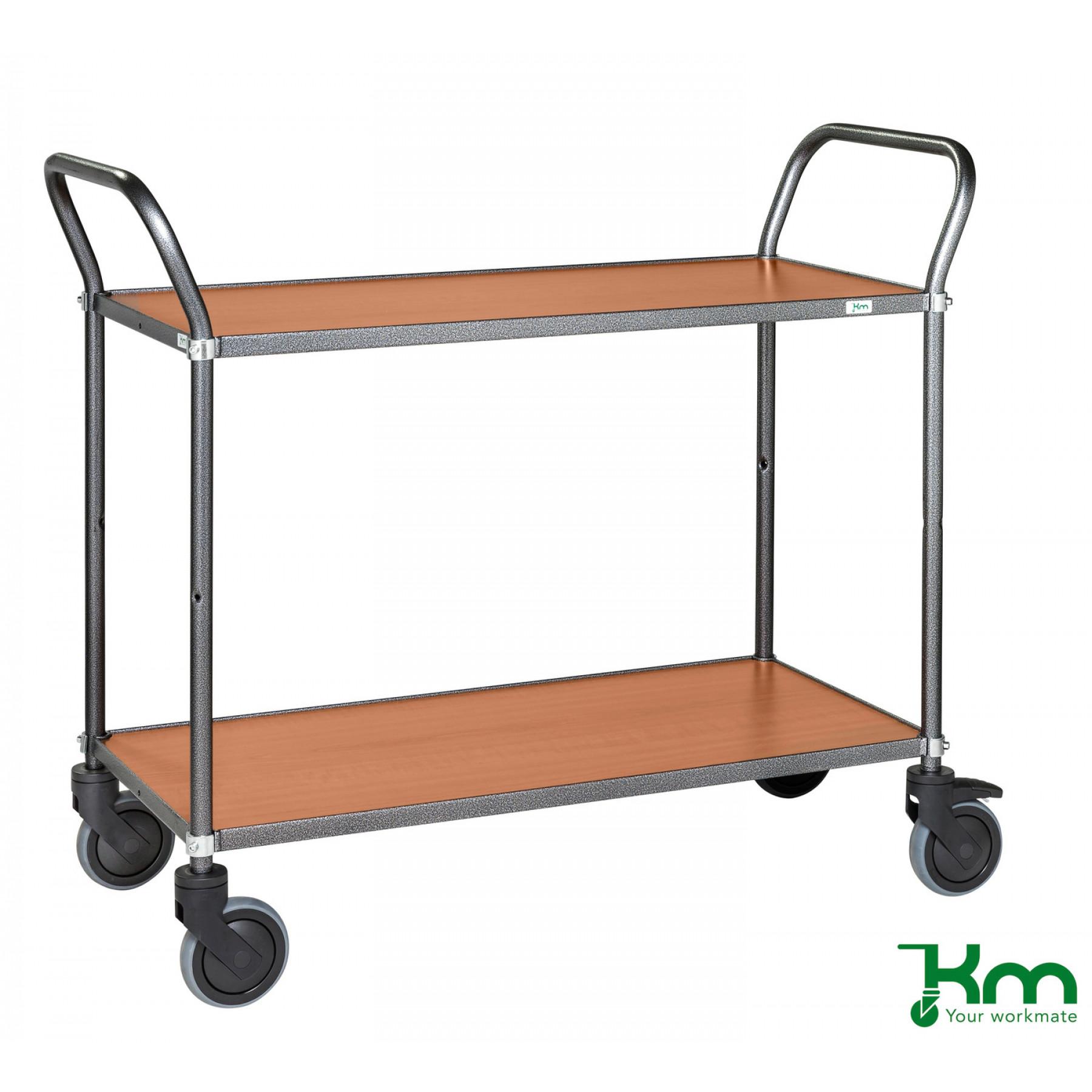Design tafelwagen met kersenstructuur toplaag, KM 9112-KO