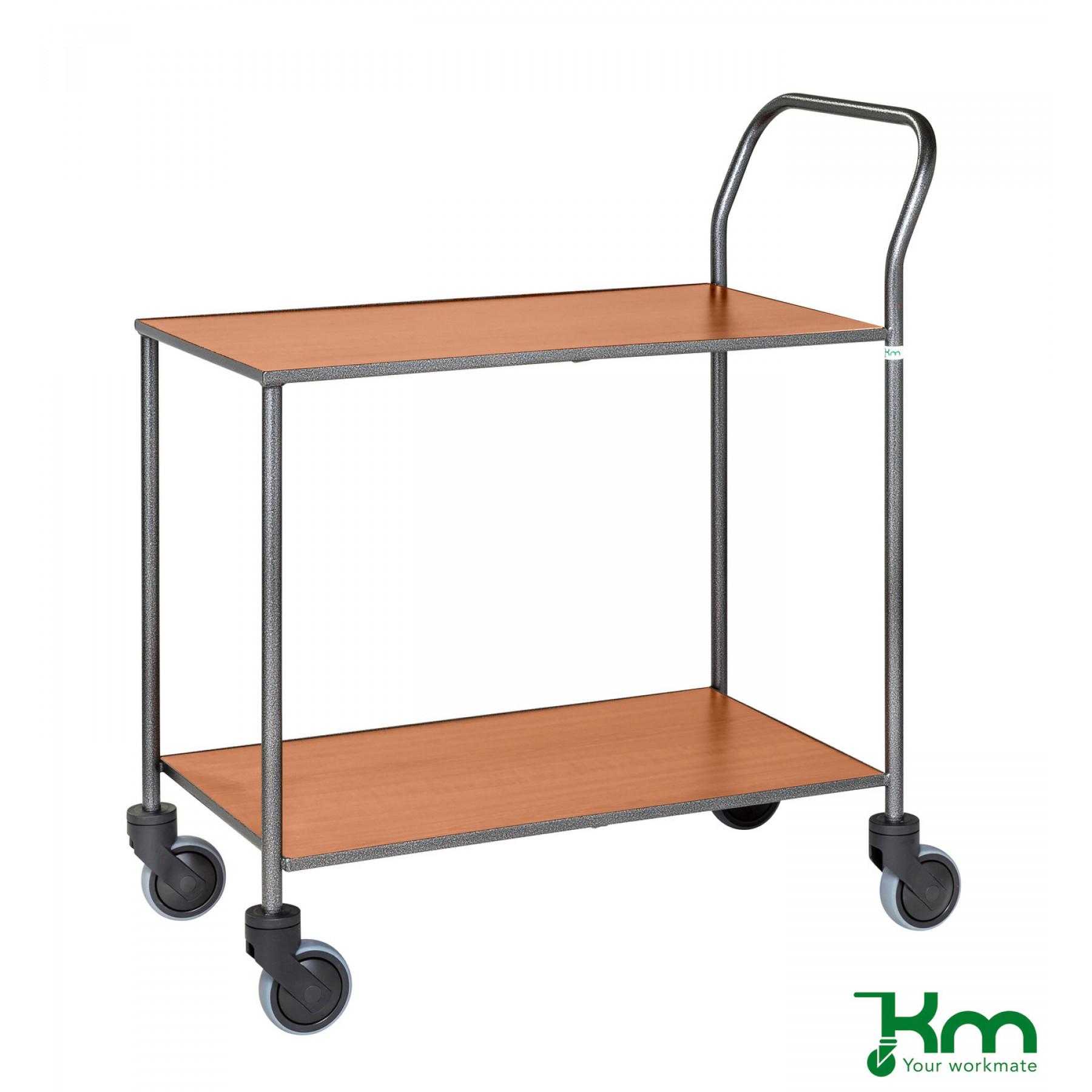 Design tafelwagen met kersenstructuur toplaag, KM 972-KO