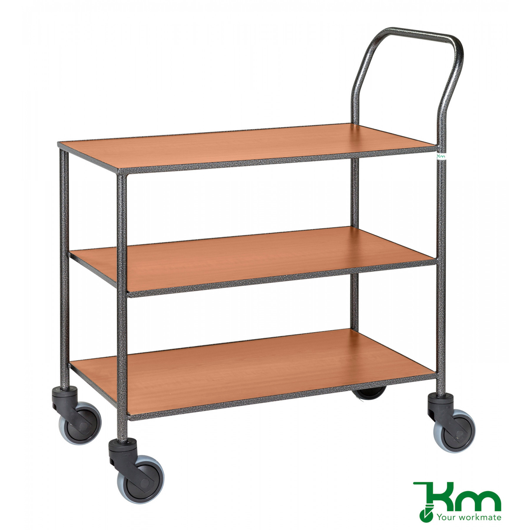 Design tafelwagen met kersenstructuur toplaag, KM 973-KO