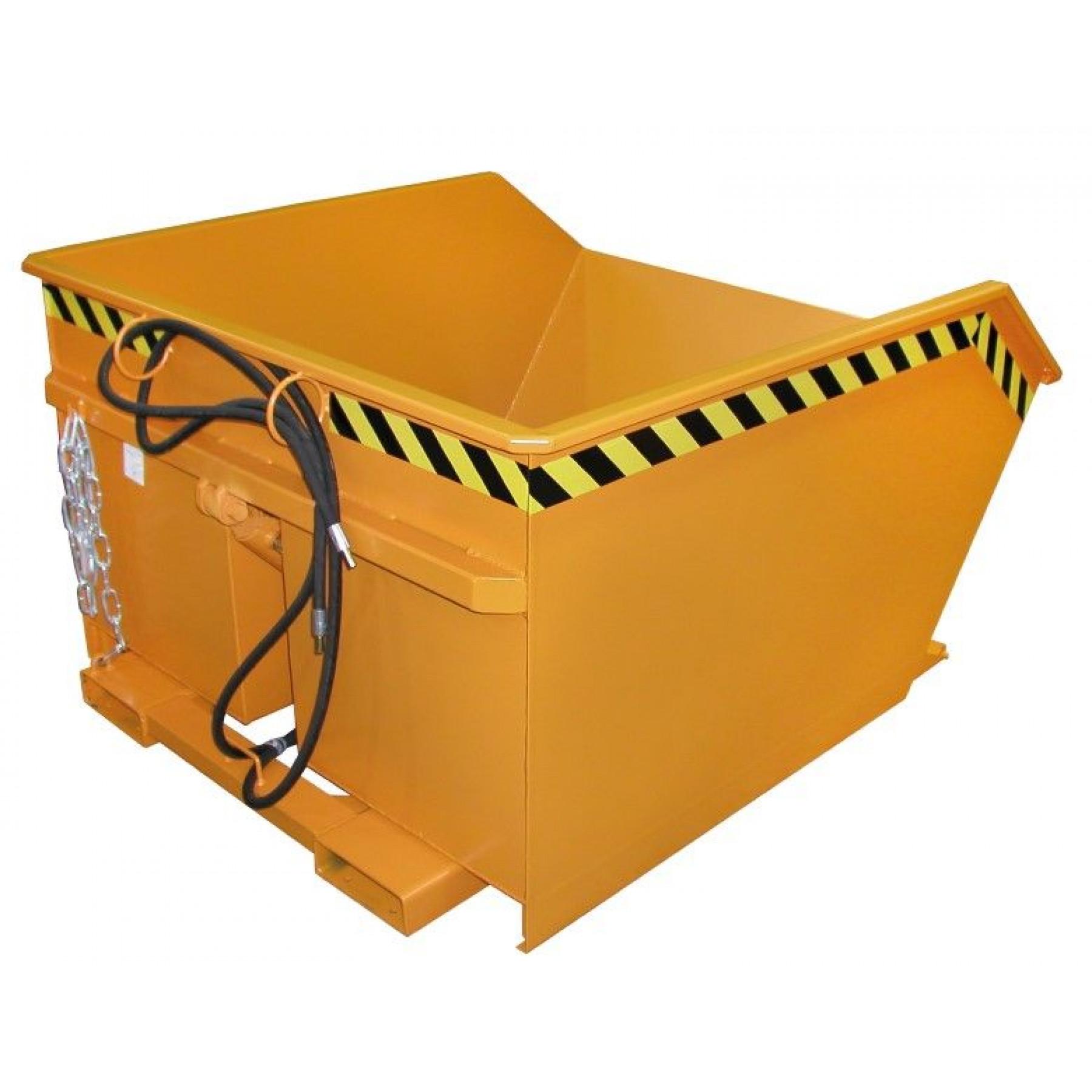 Olie- en waterdicht aflassen MTFL-kiepcontainers, MTFL-OWA