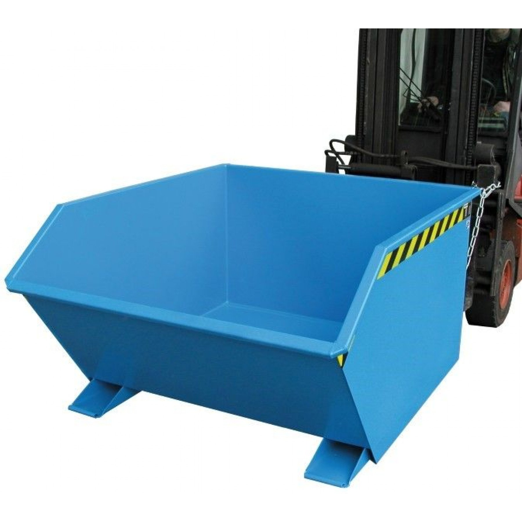 Kiepcontainer laag model, gelakt of verzinkt, type MTFL