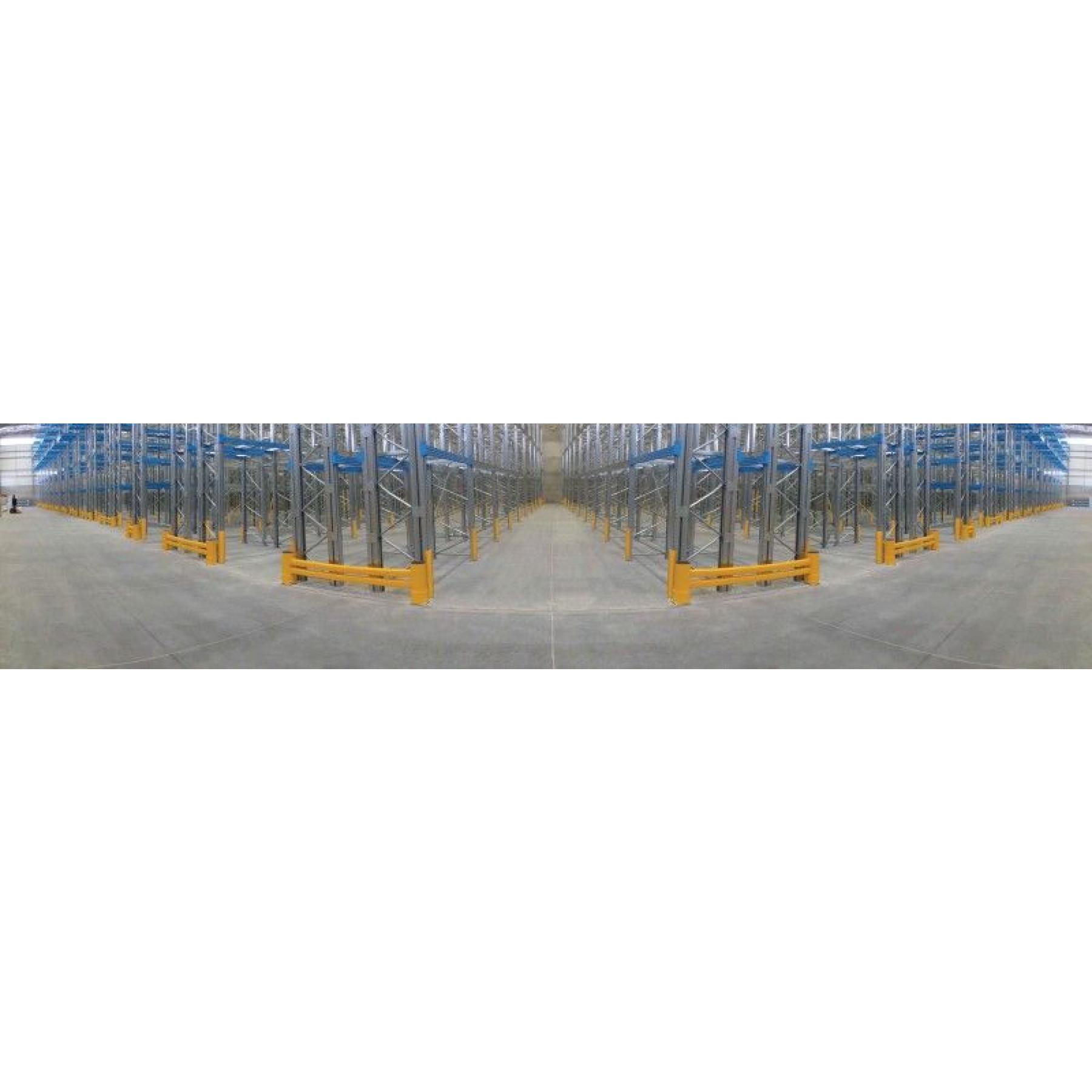 Stijlbescherming voor stellingen, hoogte 600 mm