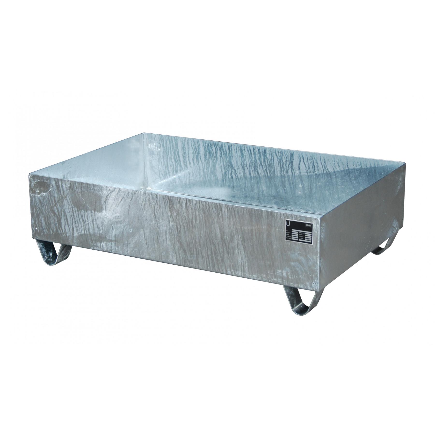 Vloeistofopvangbak voor 2 x 200 liter vat, 70049-2017