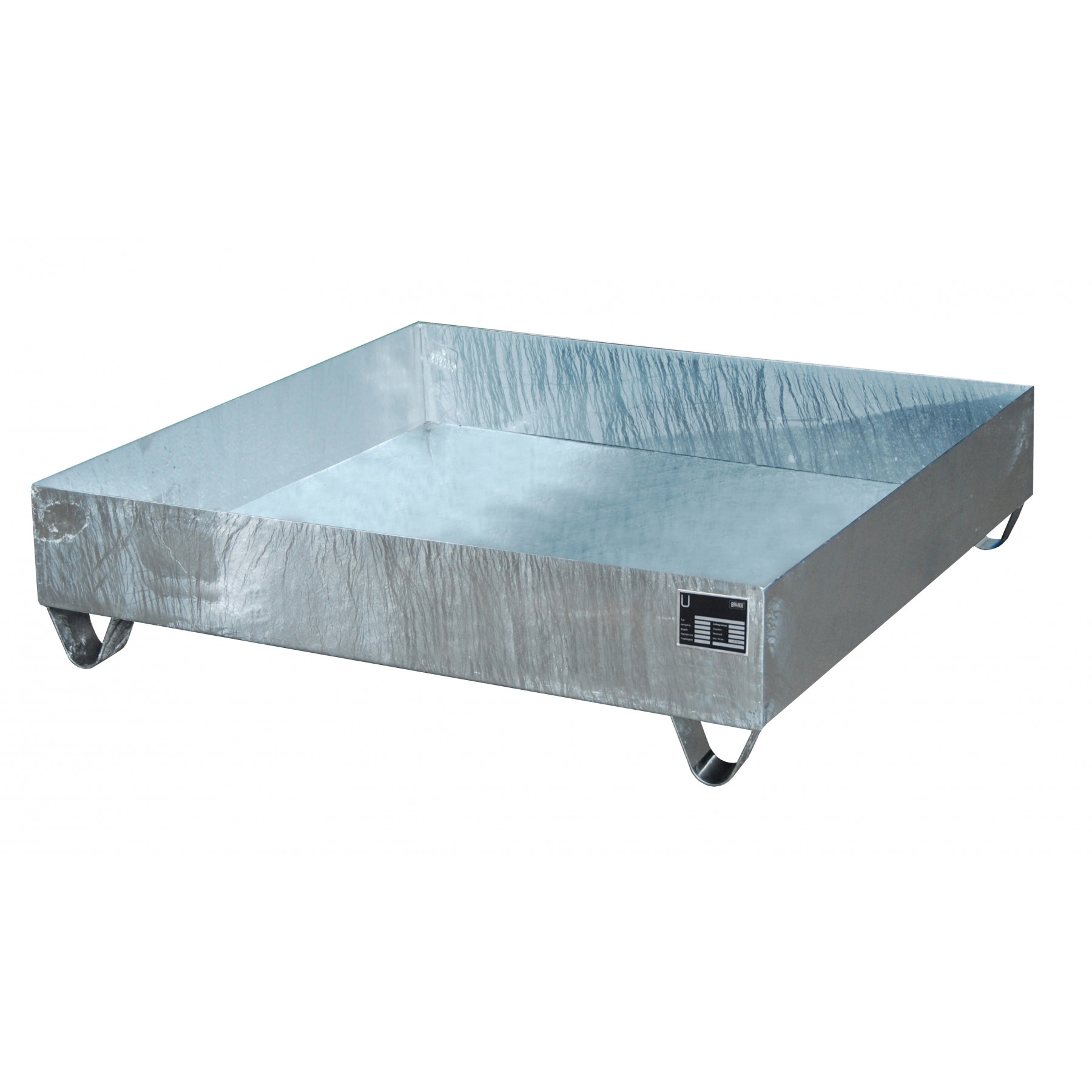 Vloeistofopvangbak voor 4 x 200 liter vat, 70049-2031