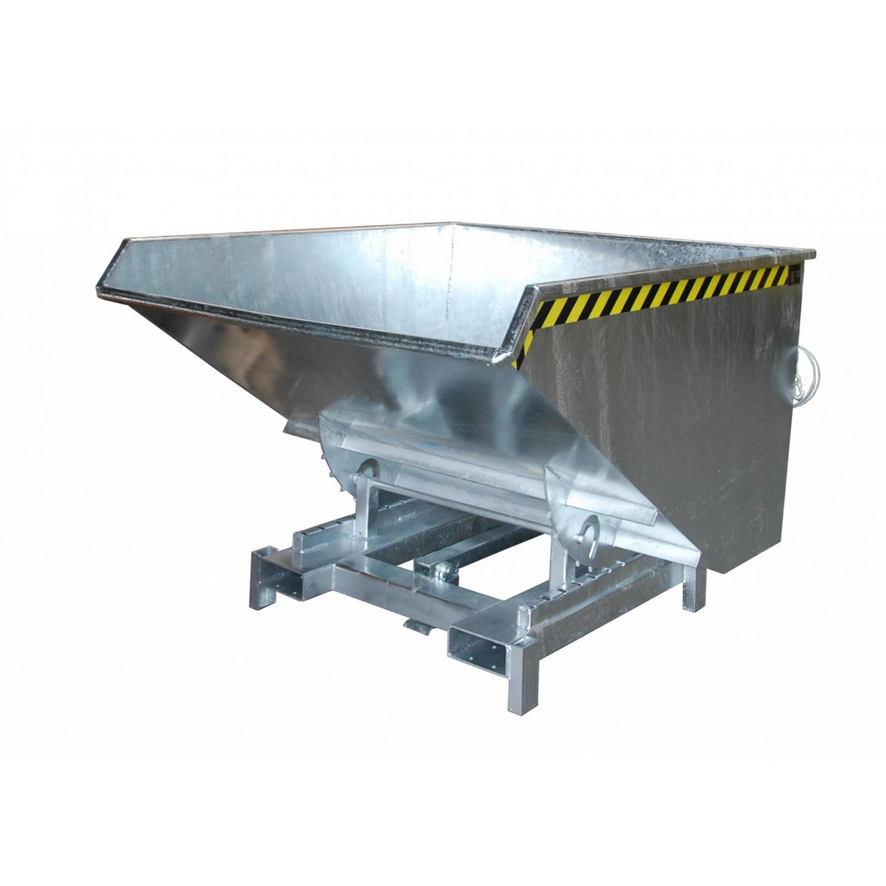 Kiepcontainer extra zwaar 1200 liter, MTF-SK-1200-V