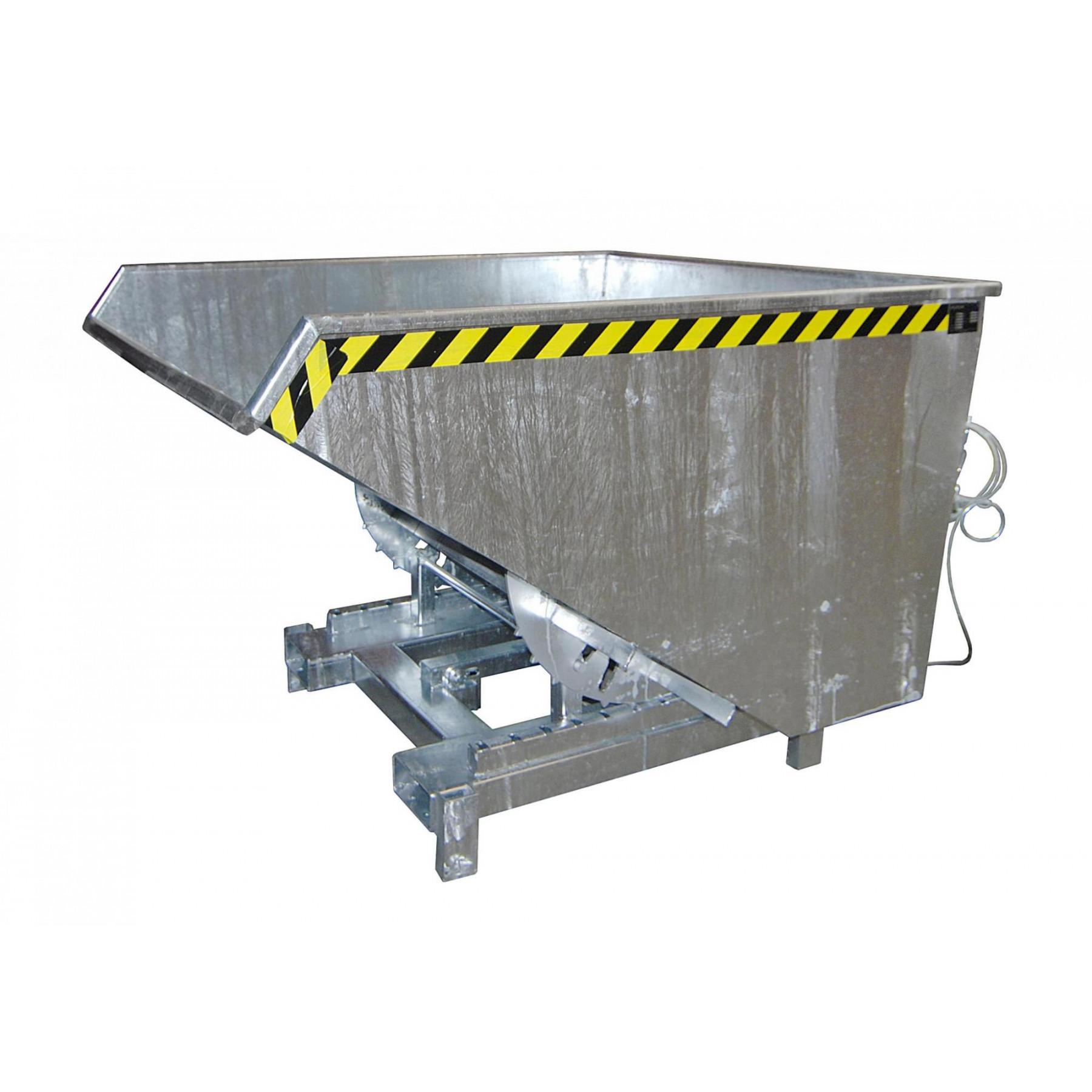 Kiepcontainer extra zwaar 900 liter, MTF-SK-900-V