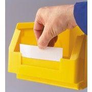 Etiket, transparant voor RasterPlan magazijnbak