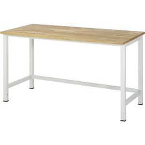 Werktafel met massief beuken werkblad, serie 900