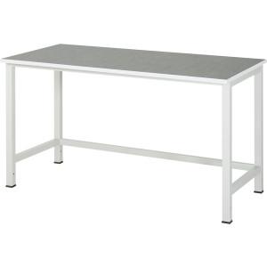 Werktafel met werkblad met linoleum toplaag, serie 900