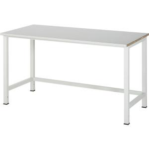 Werktafel met werkblad met staalplaat toplaag, serie 900
