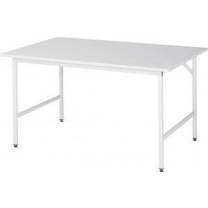 Werktafel met werkblad met EGB-melaminehars coating, serie Jerry 800 mm
