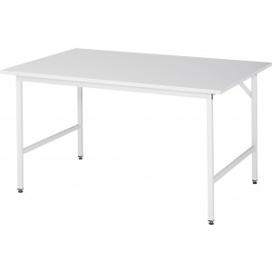 Werktafel met RVS werkblad, serie Jerry 1000 mm