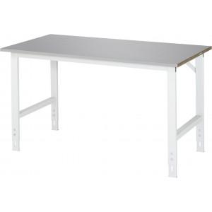 Werktafel met RVS werkblad, serie Tom 800 mm