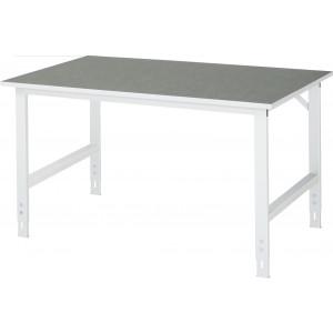 Werktafel met werkblad met linoleum toplaag, serie Tom 1000 mm