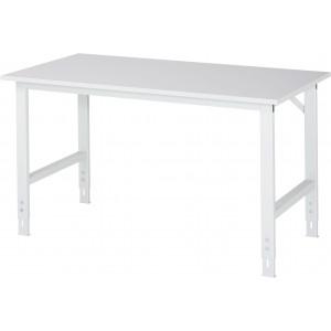 Werktafel met werkblad met EGB-melaminehars coating, serie Tom 800 mm